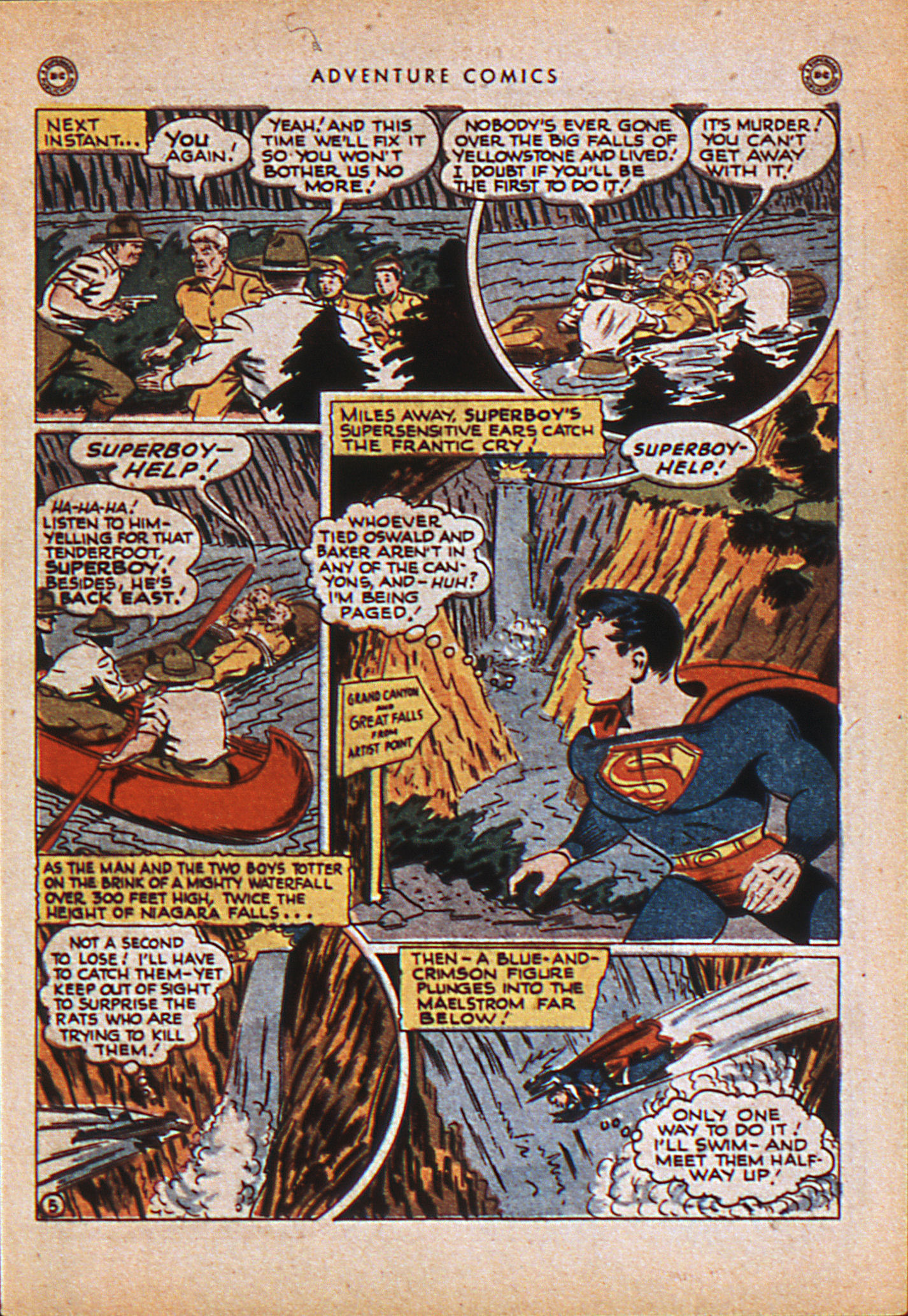 Read online Adventure Comics (1938) comic -  Issue #114 - 8