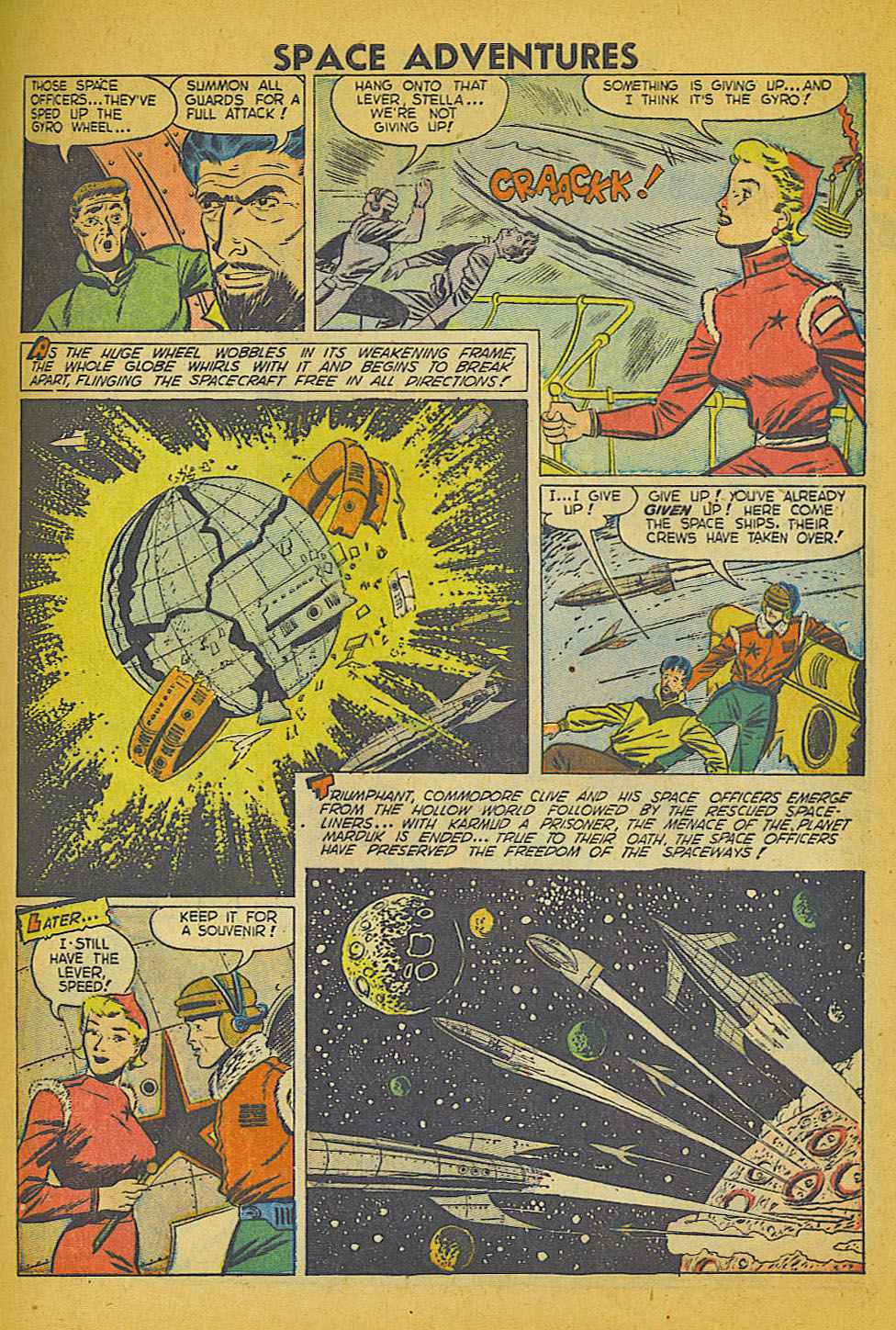 Space Adventures (1952) issue 3 - Page 8