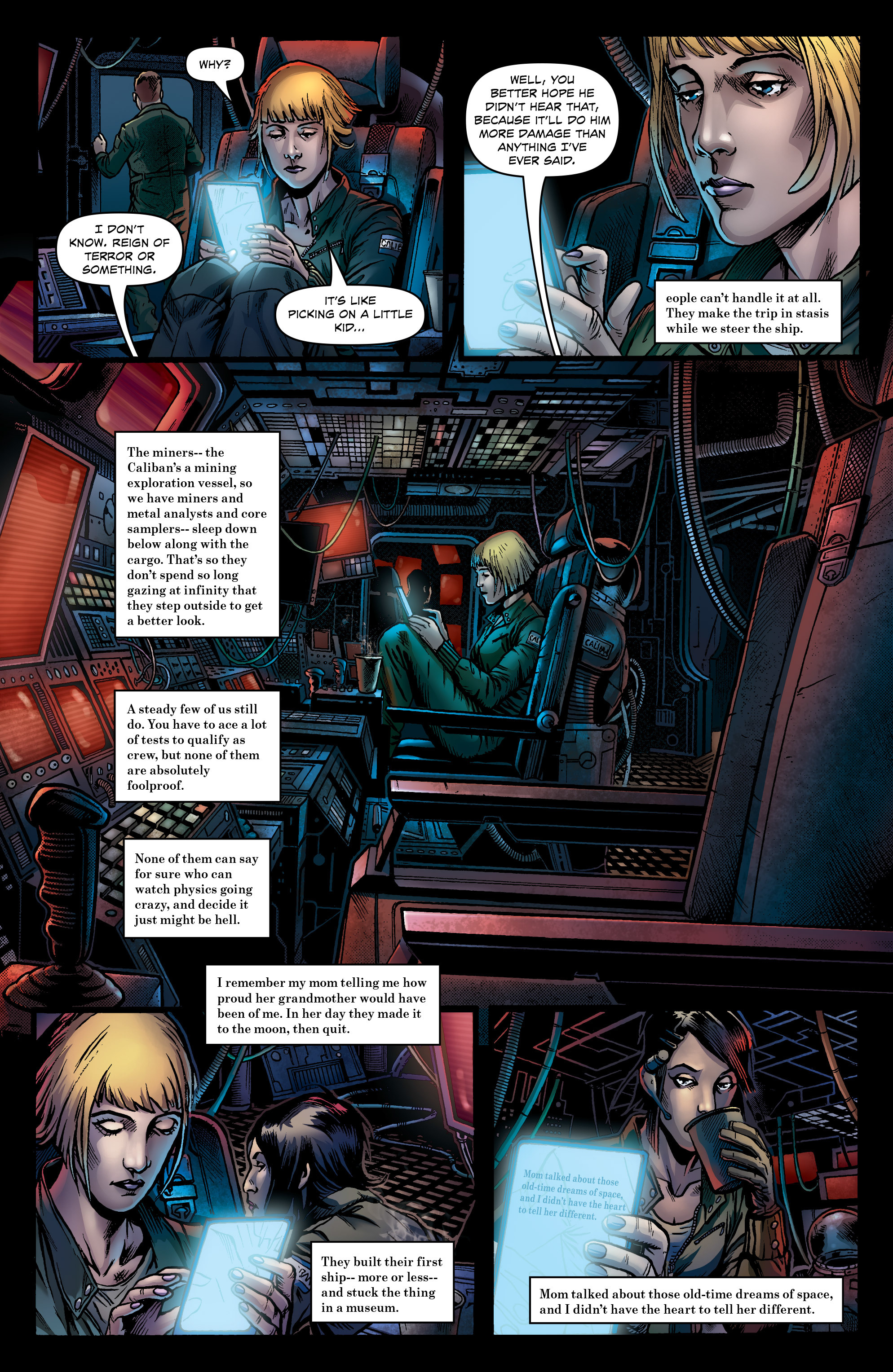 Read online Caliban comic -  Issue #1 - 11