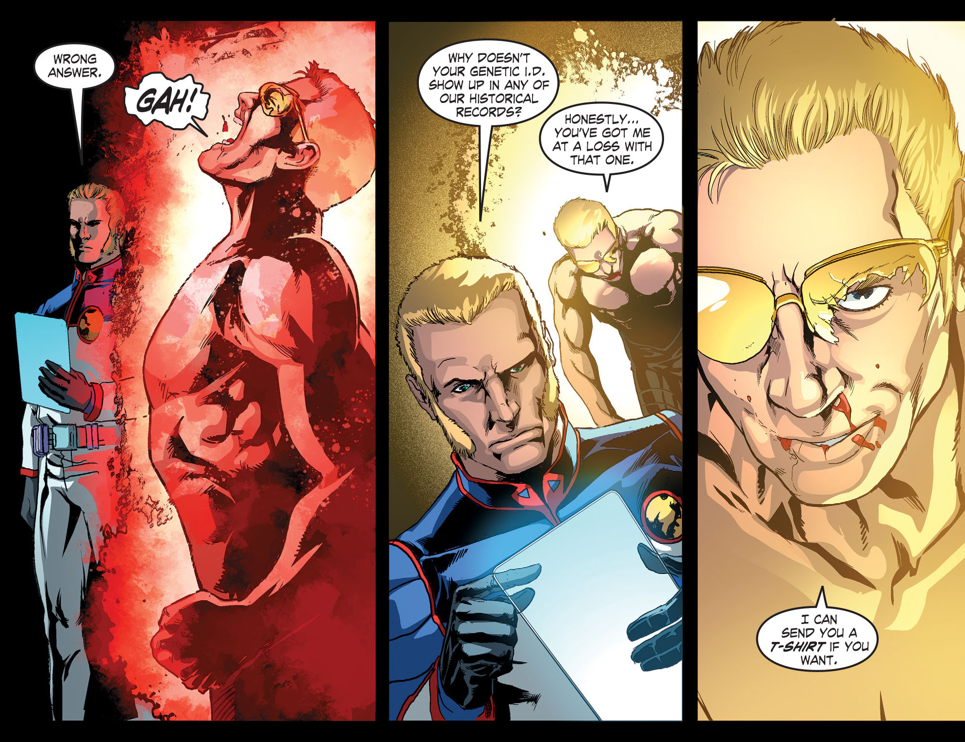 Read online Smallville: Season 11 comic -  Issue #51 - 4