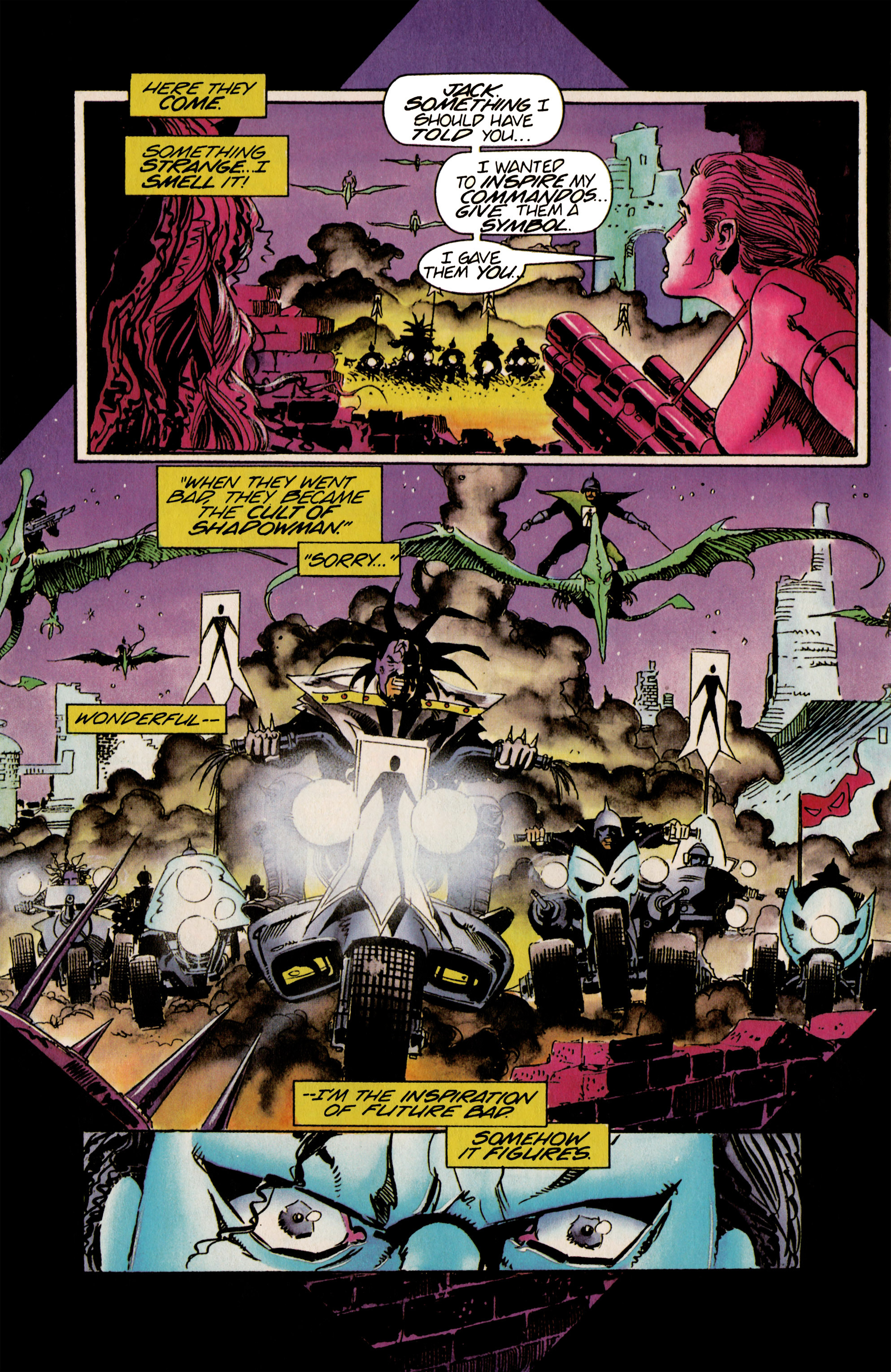 Read online Shadowman (1992) comic -  Issue #21 - 14