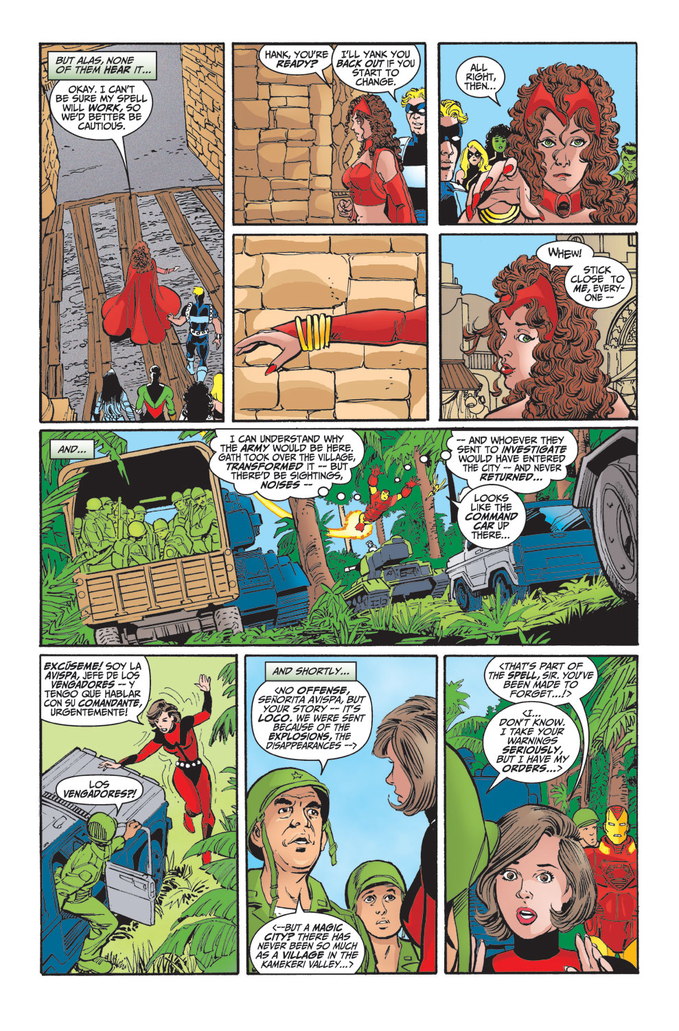 Read online Avengers (1998) comic -  Issue #29 - 10