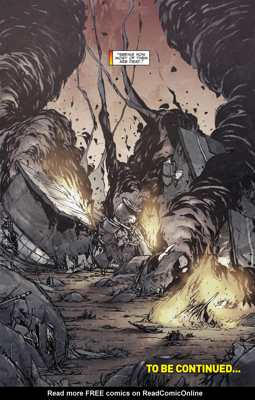 Read online Secret Warriors comic -  Issue #17 - 25