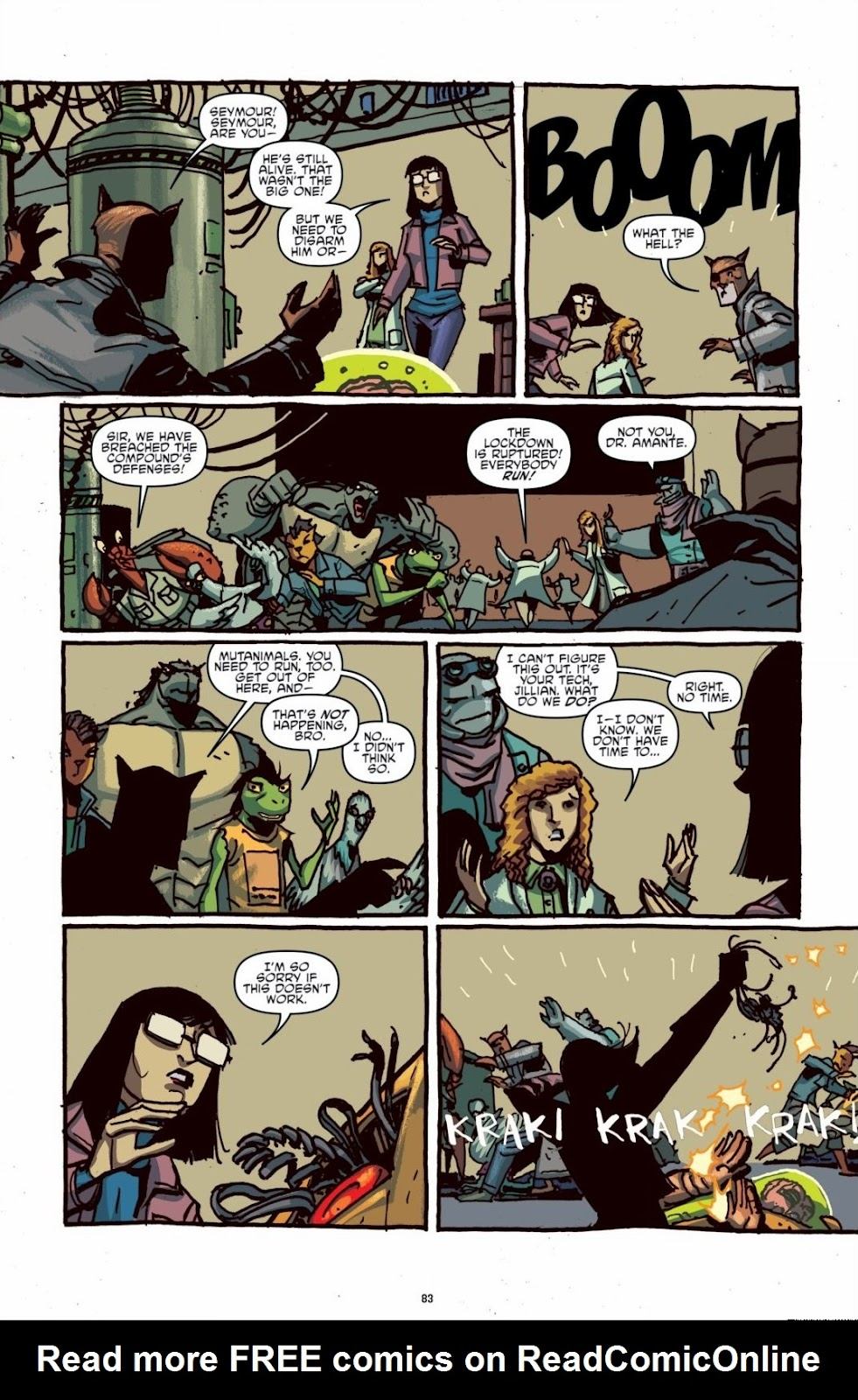 Read online Teenage Mutant Ninja Turtles: The IDW Collection comic -  Issue # TPB 6 (Part 1) - 82