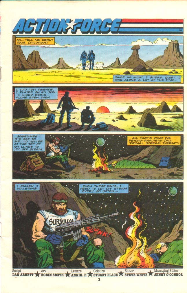 G.I. Joe European Missions issue 11 - Page 2