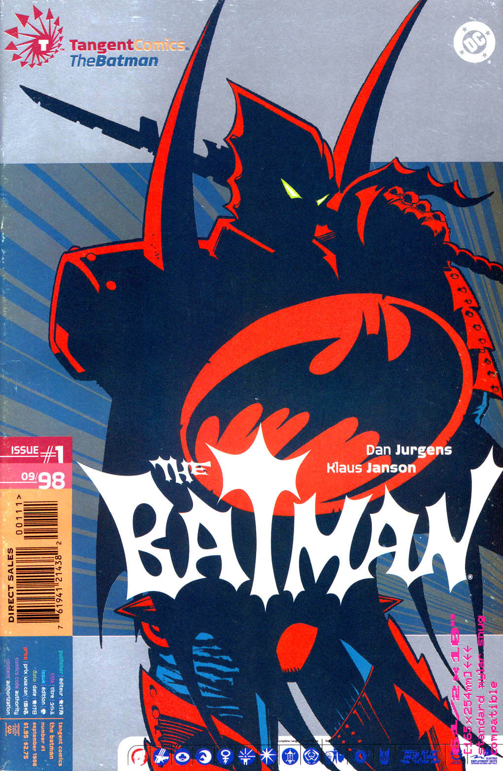 Tangent Comics/ The Batman Full Page 1