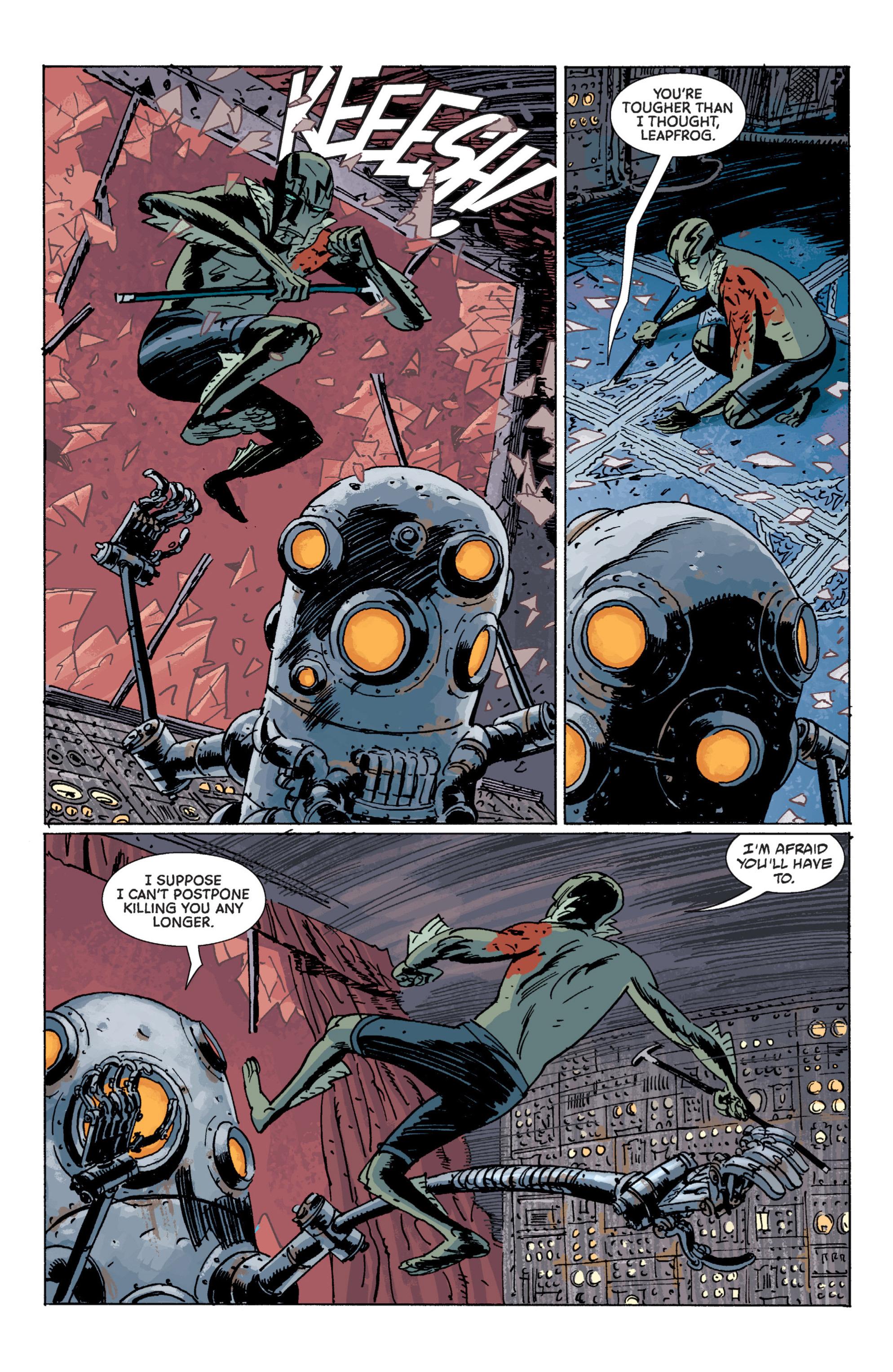 Read online B.P.R.D. (2003) comic -  Issue # TPB 7 - 119