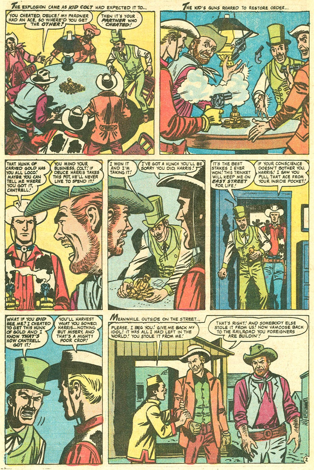 Kid Colt Outlaw issue 141 - Page 12