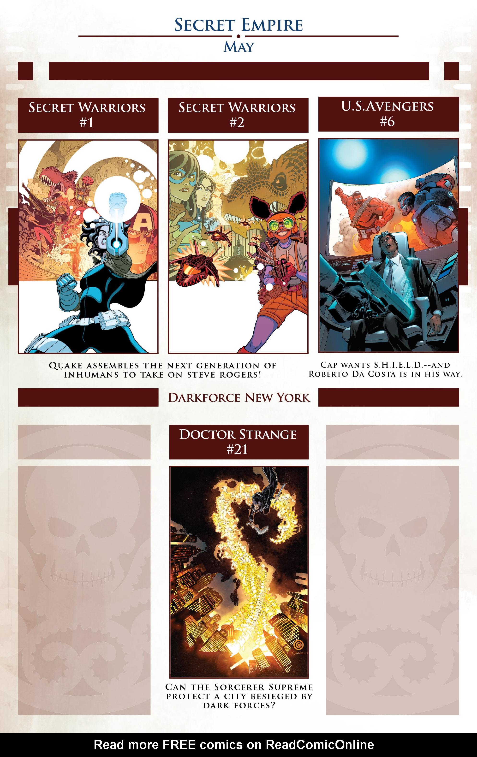 Read online Secret Empire comic -  Issue #1 - 43
