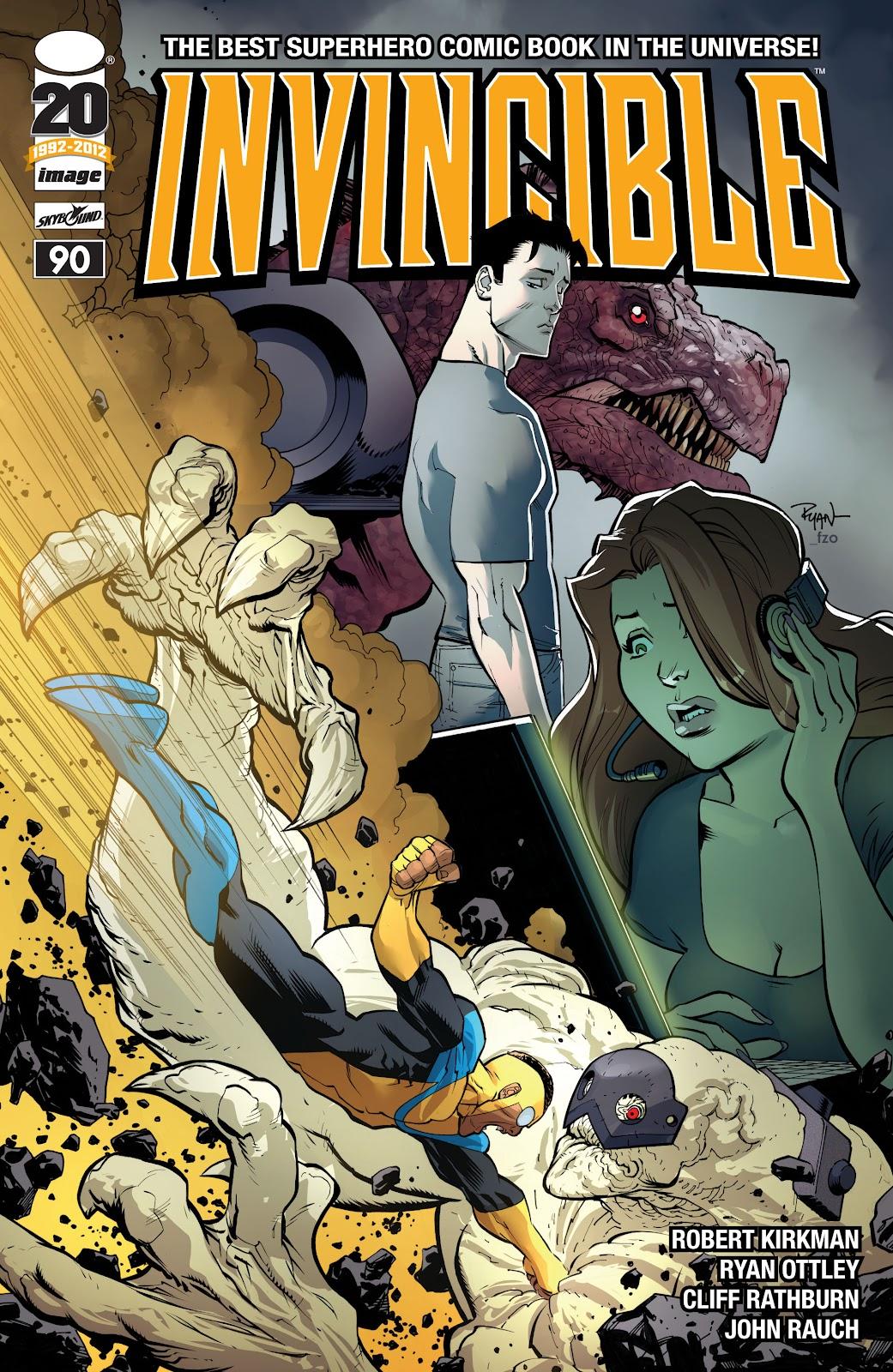Invincible (2003) 90 Page 1