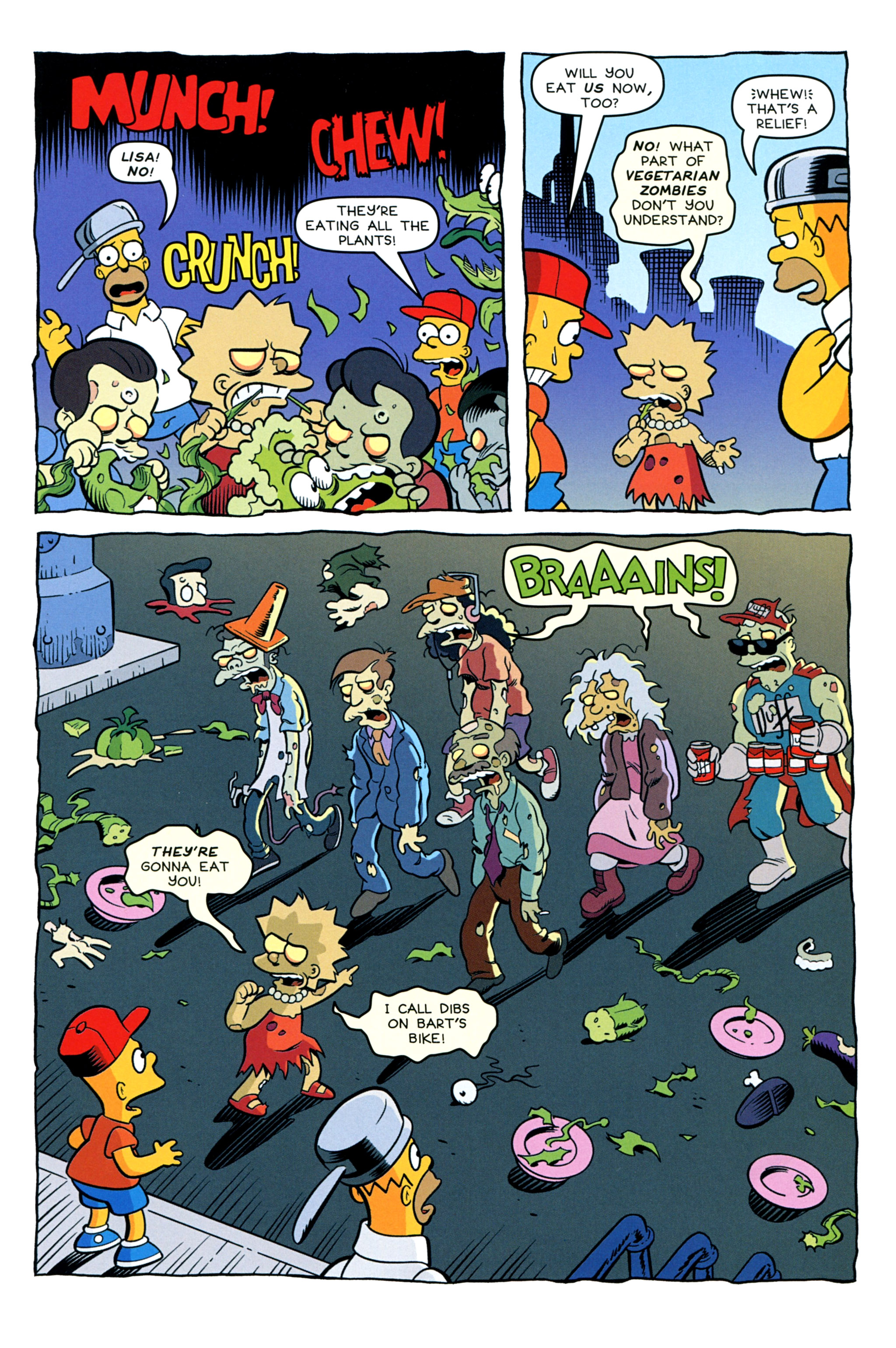 Read online Treehouse of Horror comic -  Issue #20 - 45