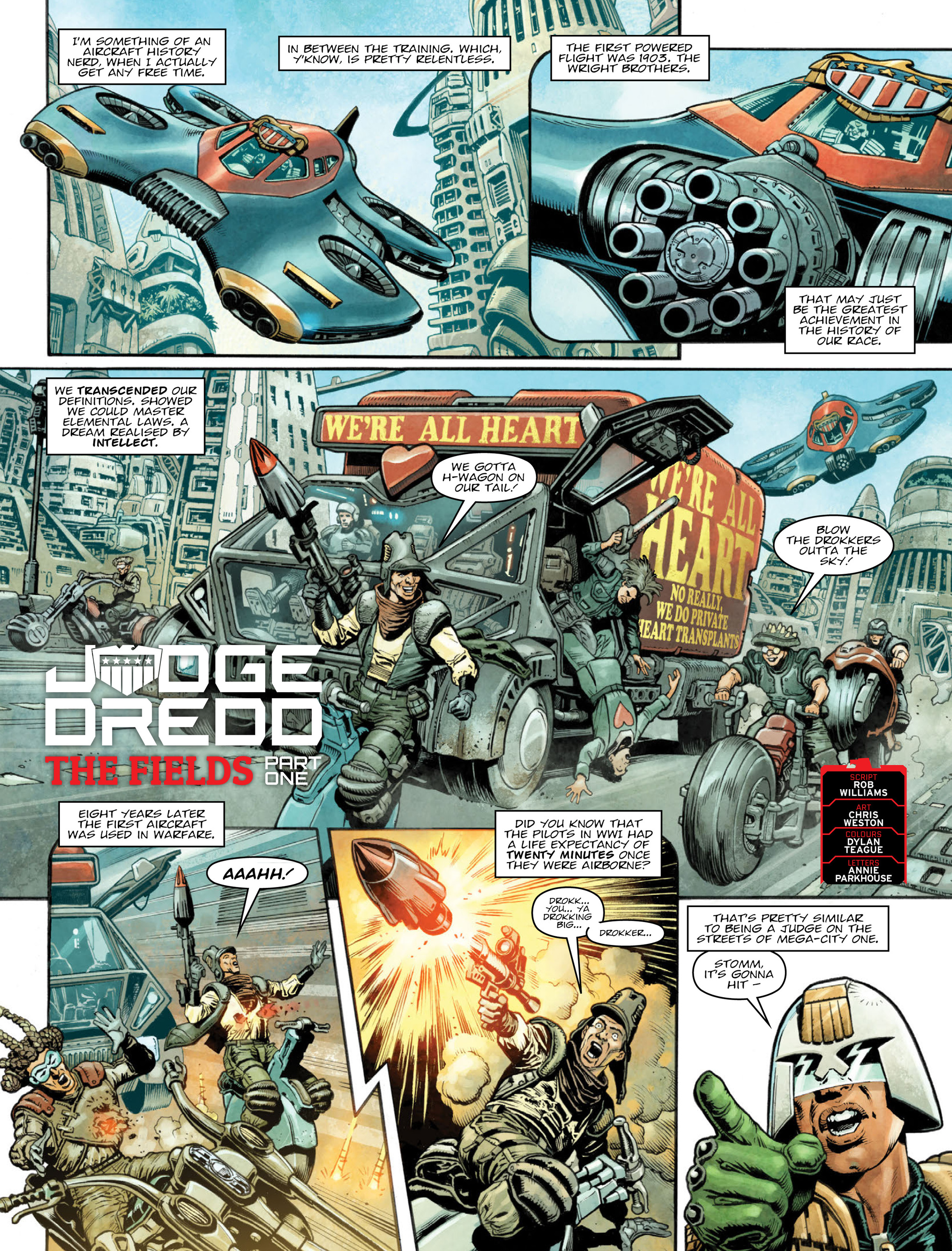 Read online 2000 AD comic -  Issue #2035 - 3