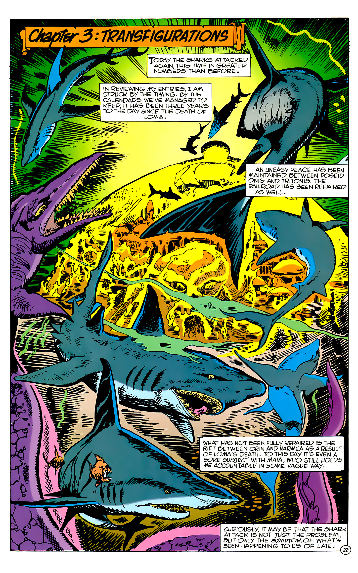 Read online Atlantis Chronicles comic -  Issue #2 - 22