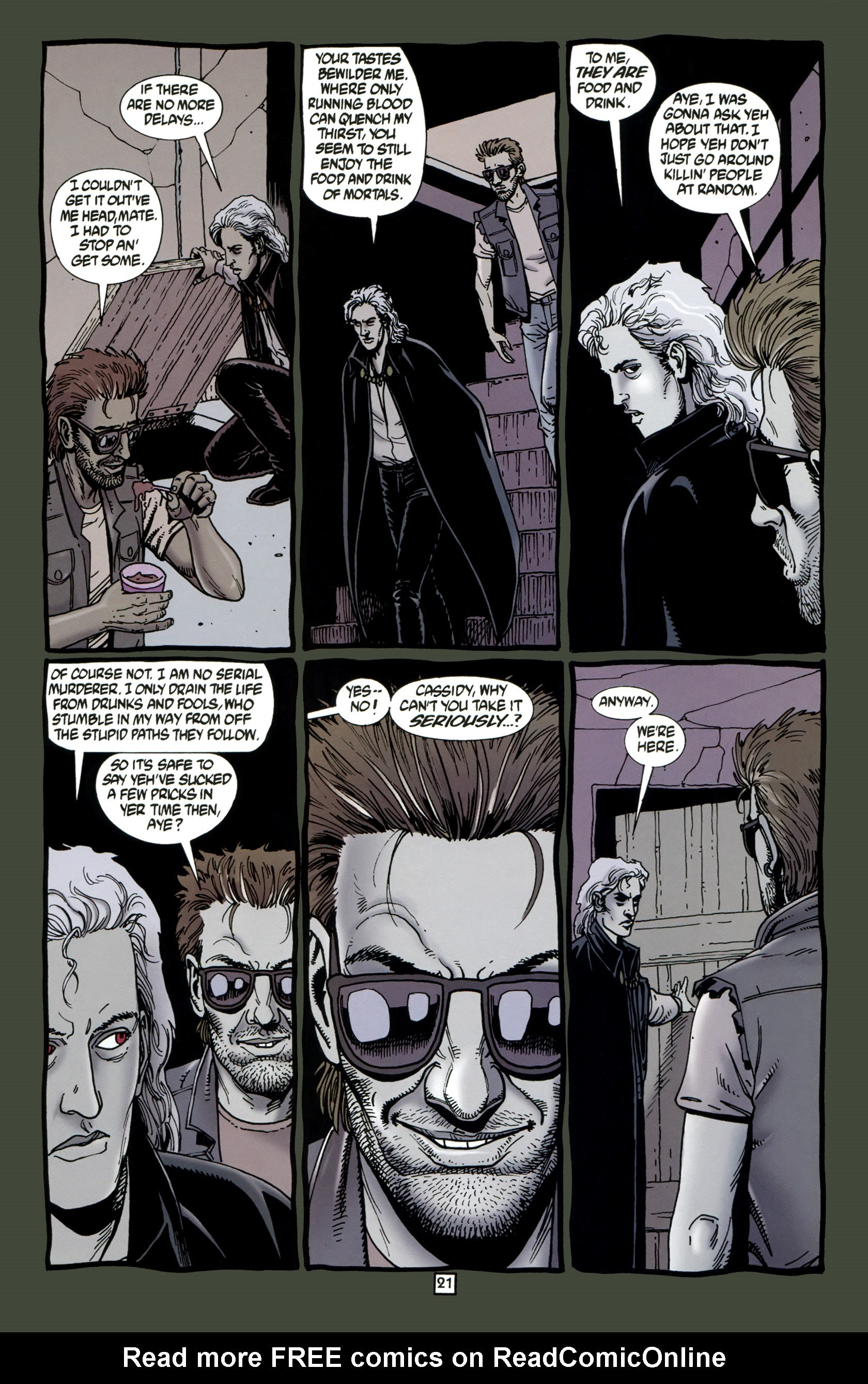 Read online Preacher Special: Cassidy : Blood and Whiskey comic -  Issue # Full - 23