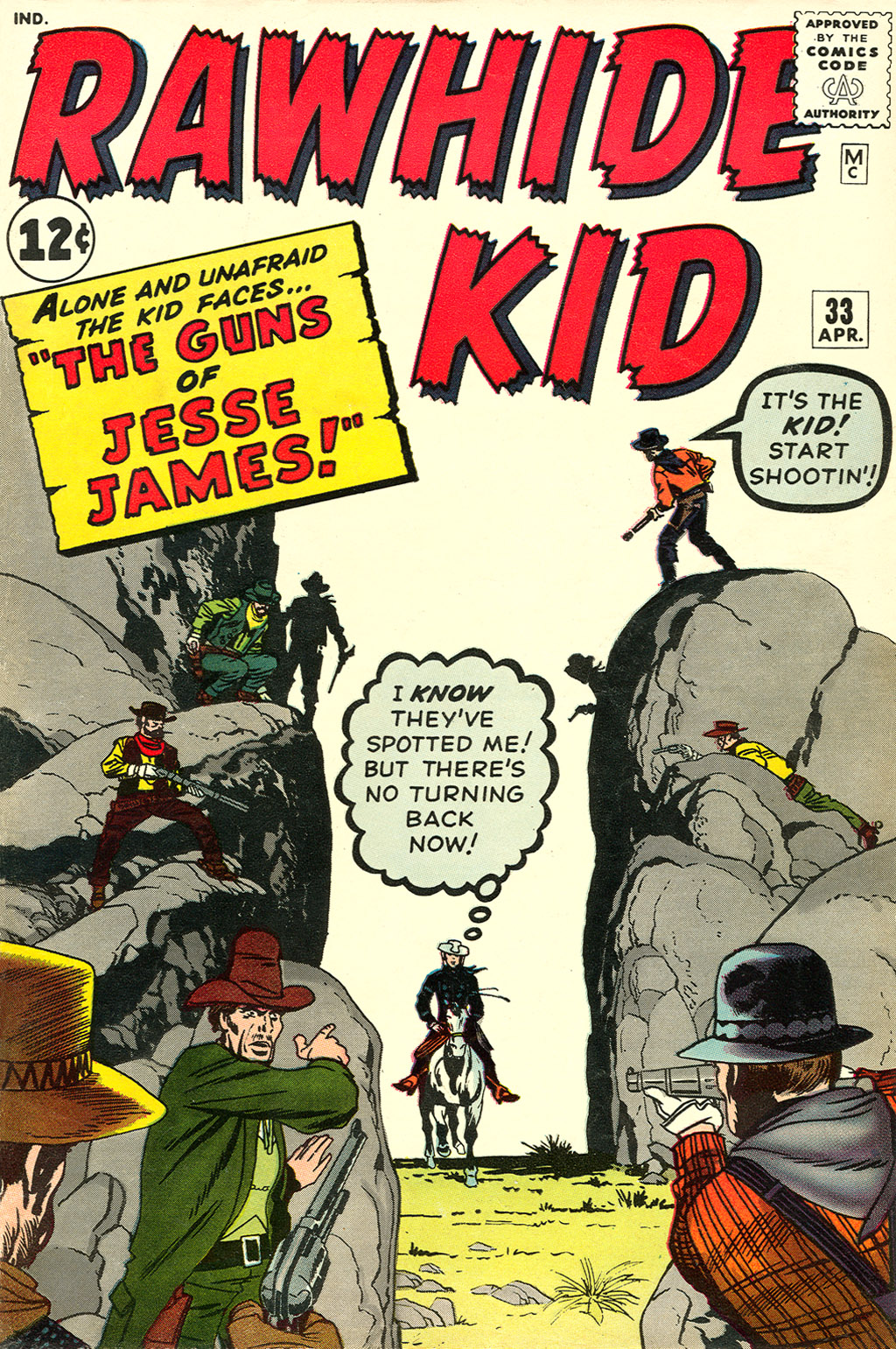 The Rawhide Kid (1955) issue 33 - Page 1