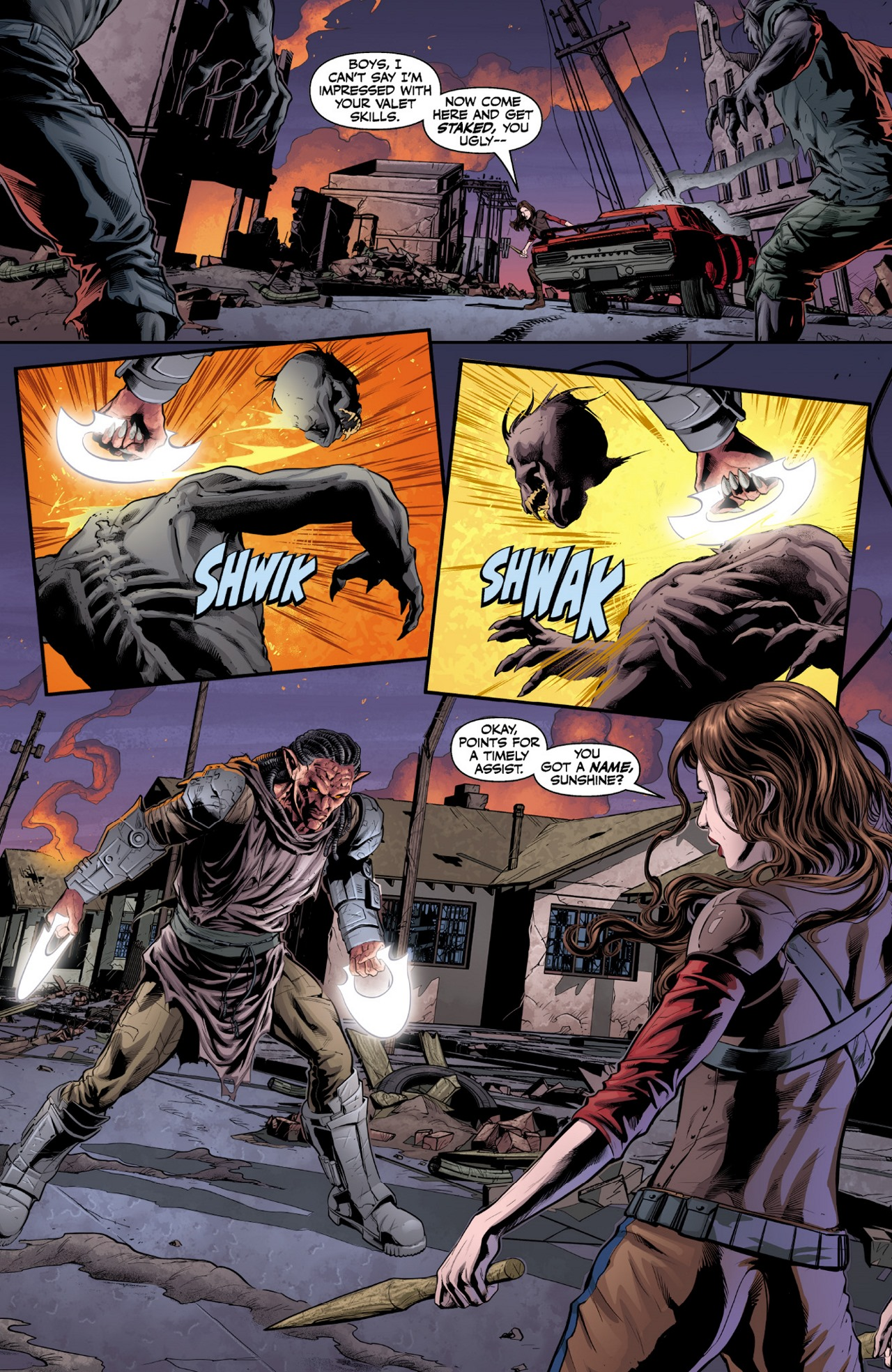 Read online Angel & Faith Season 10 comic -  Issue #1 - 10