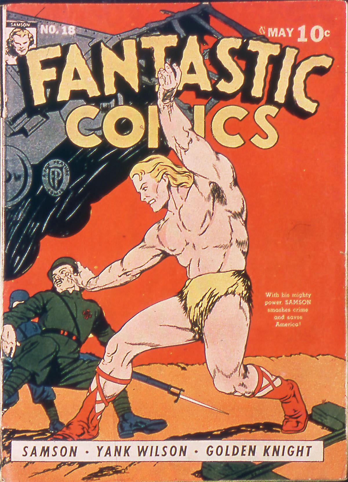 Fantastic Comics 18 Page 1