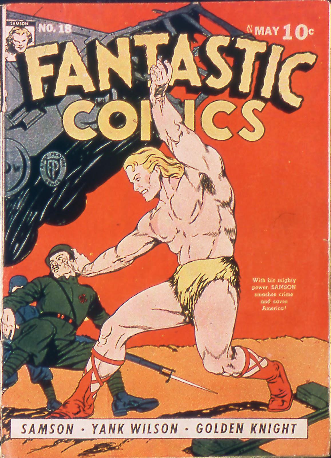 Read online Fantastic Comics comic -  Issue #18 - 1