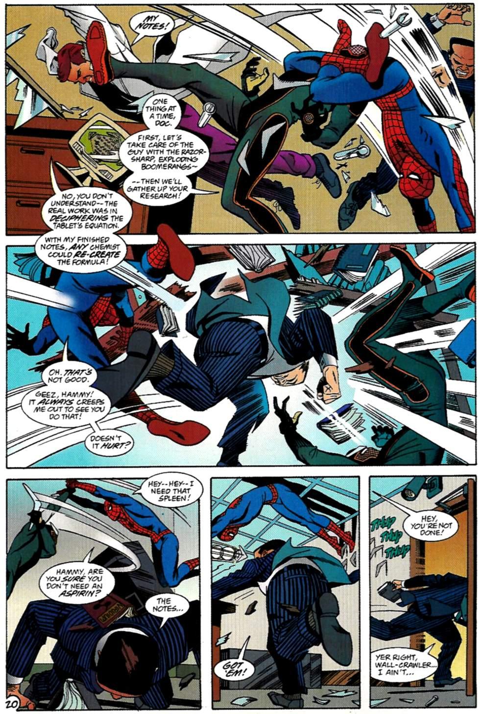 Read online Spider-Man: Lifeline comic -  Issue #2 - 21
