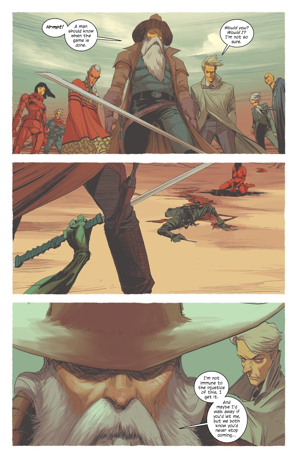 Read online East Of West comic -  Issue #42 - 25