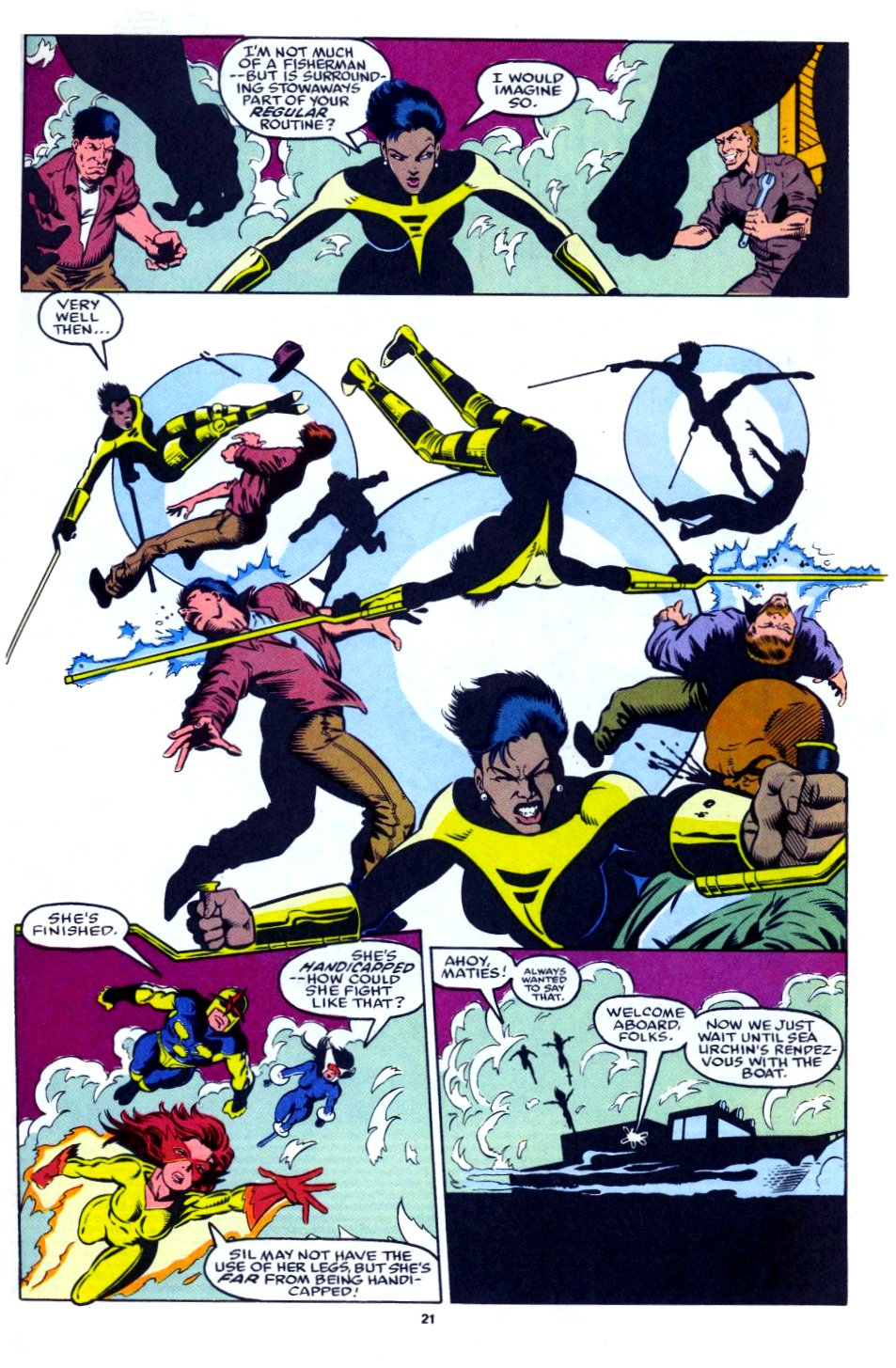 The New Warriors Issue #28 #32 - English 17