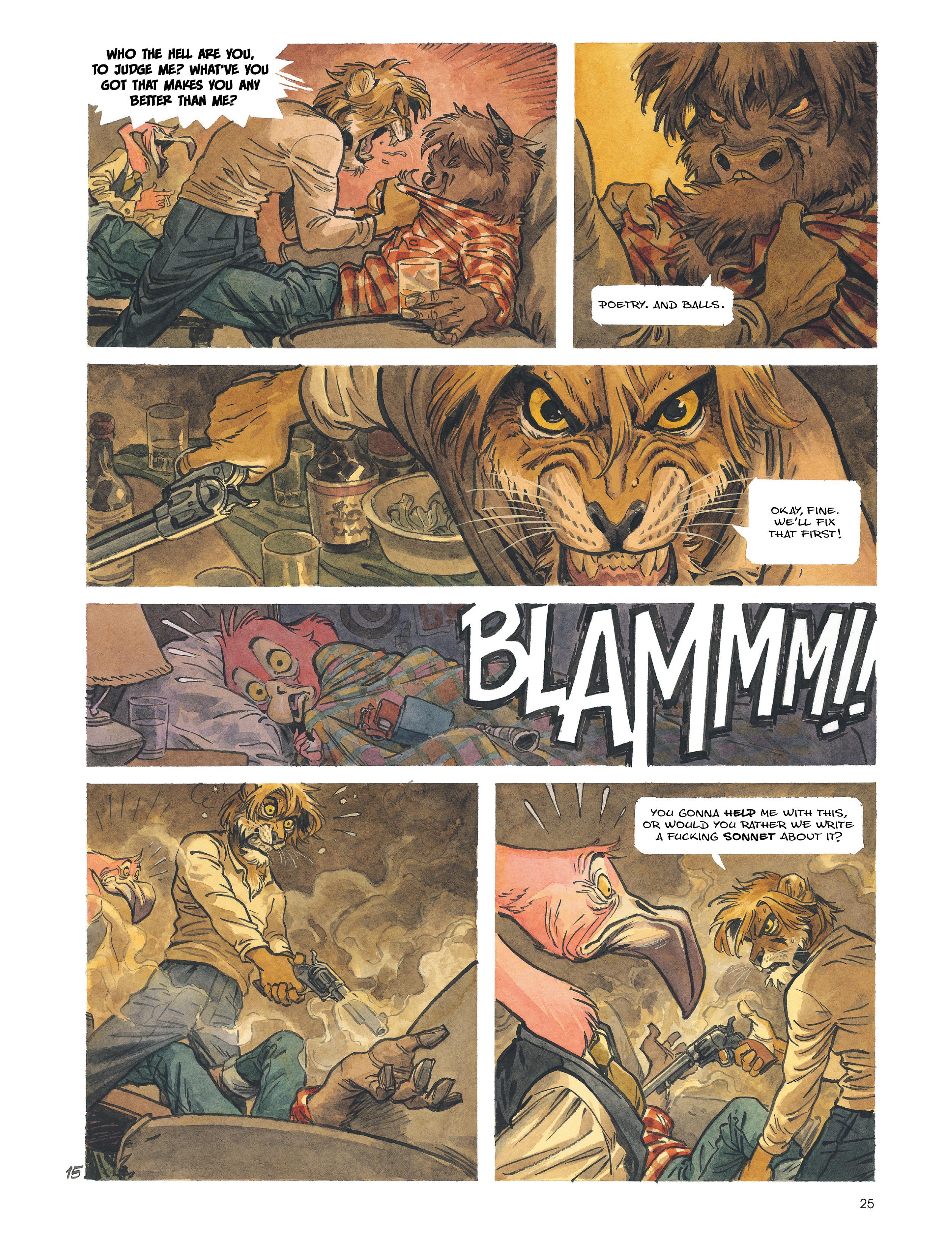 Read online Blacksad: Amarillo comic -  Issue # Full - 24