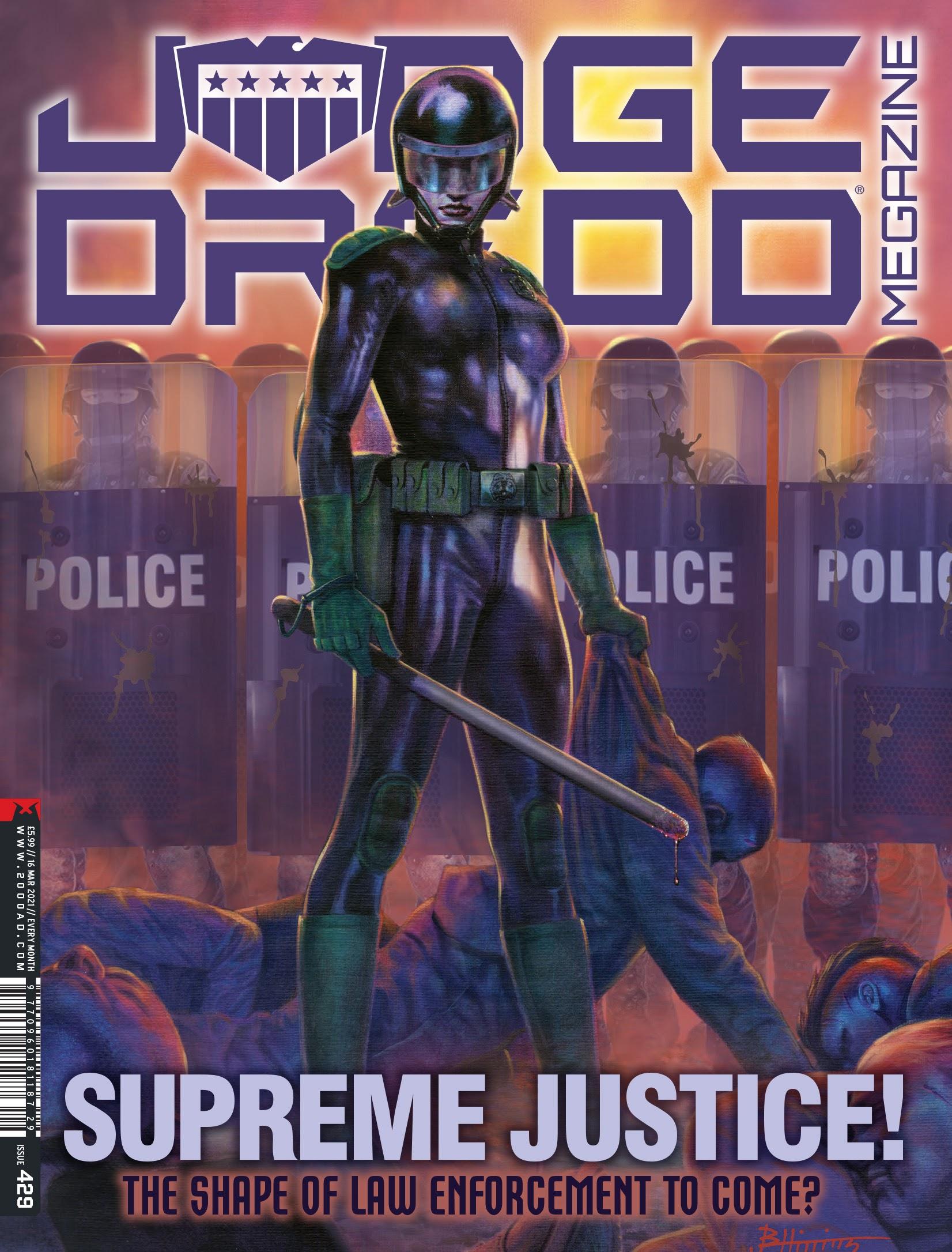 Judge Dredd Megazine (Vol. 5) issue 429 - Page 1