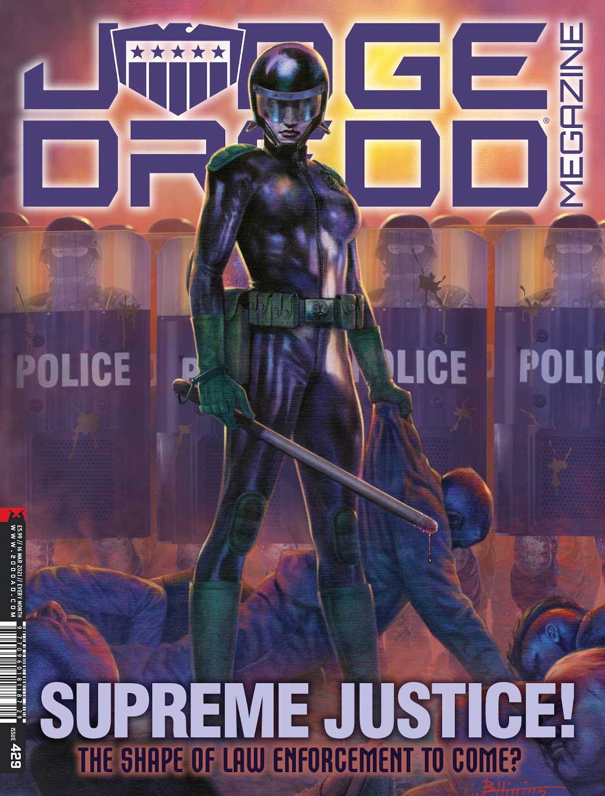 Judge Dredd Megazine (Vol.5) issue 429 - Page 1