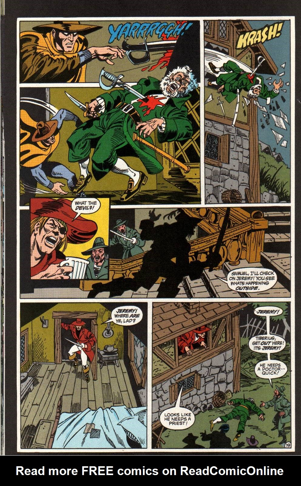 Read online The Phantom (1988) comic -  Issue #3 - 20