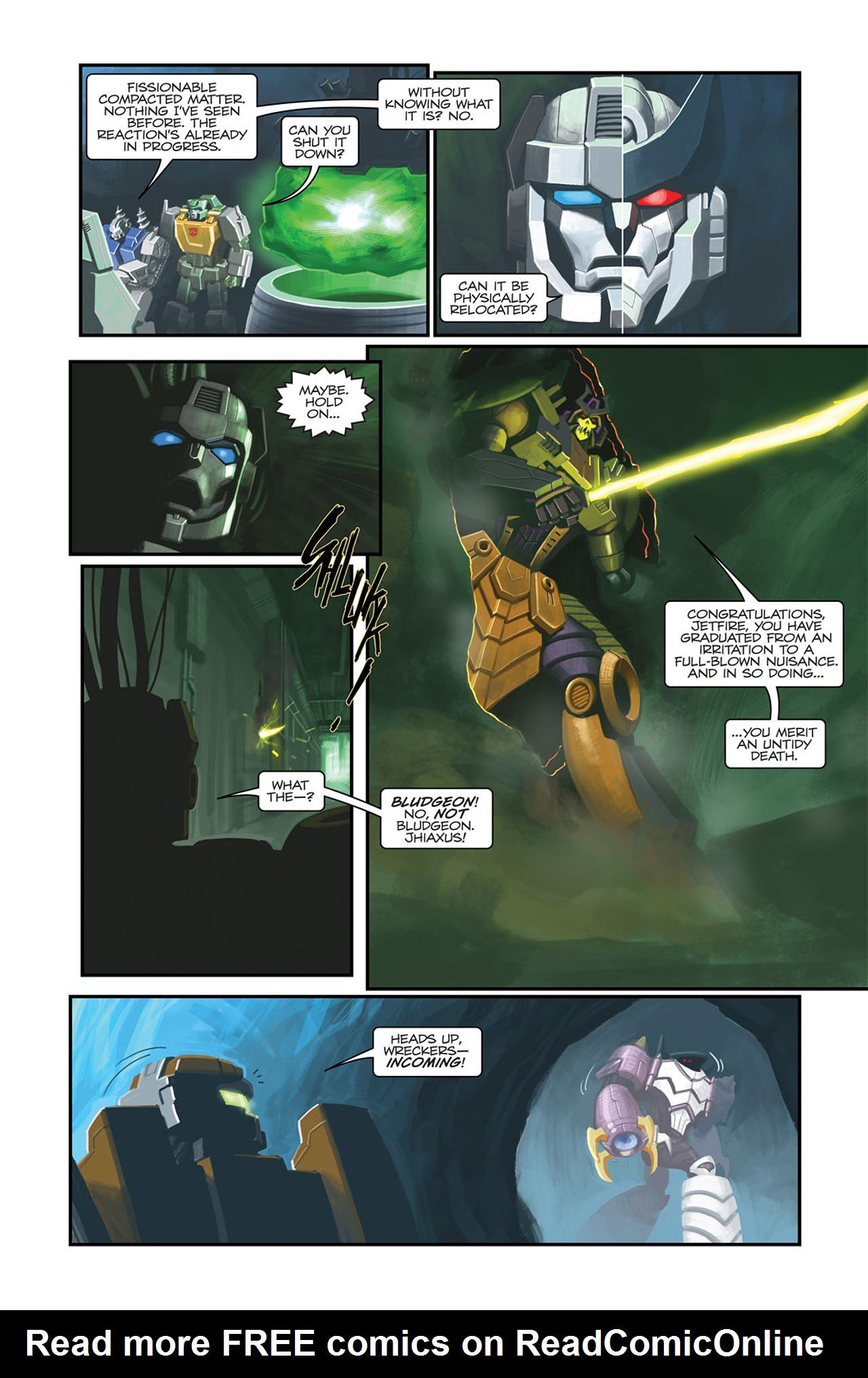 Read online Transformers Spotlight: Sideswipe comic -  Issue # Full - 12