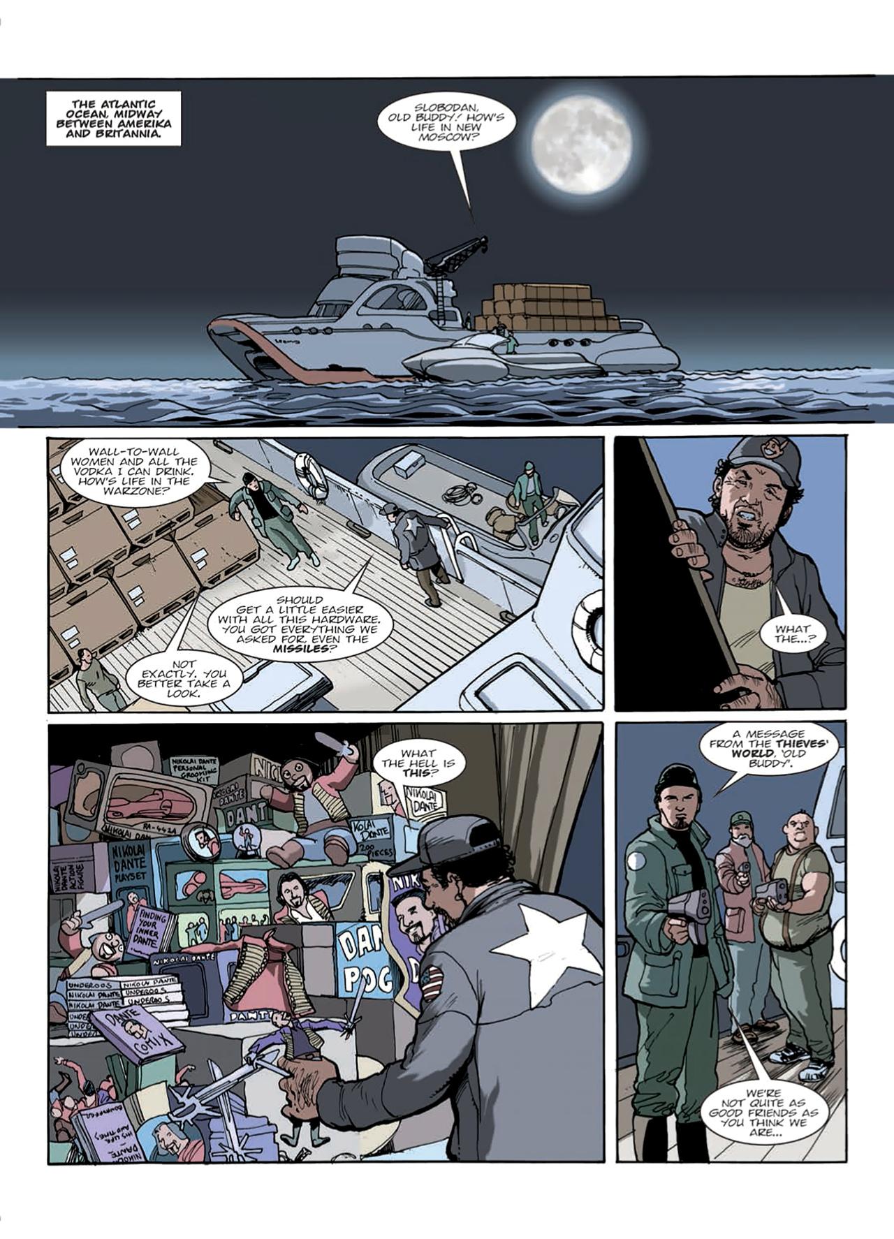 Read online Nikolai Dante comic -  Issue # TPB 9 - 34