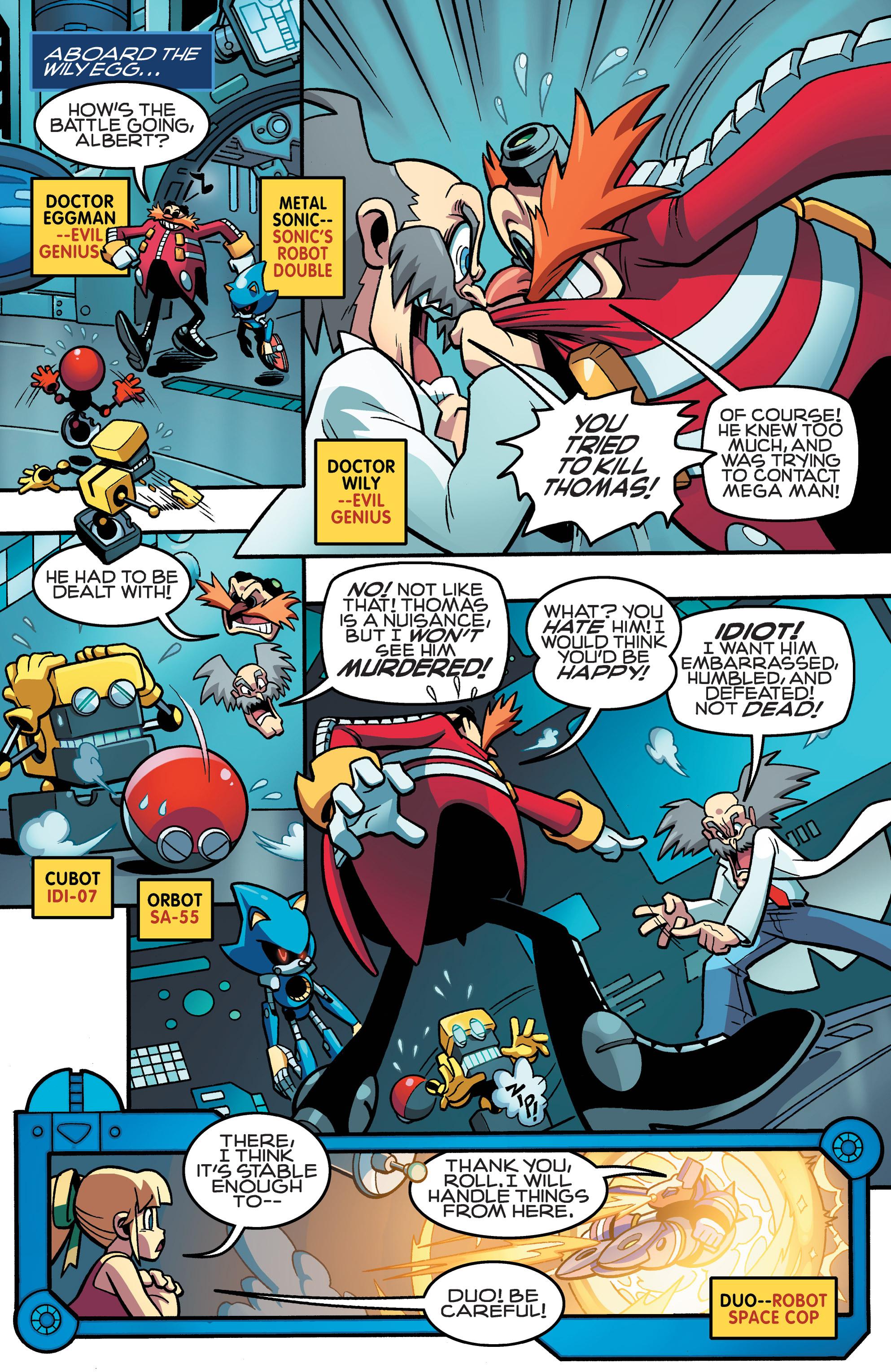 Read online Sonic Mega Man Worlds Collide comic -  Issue # Vol 3 - 55