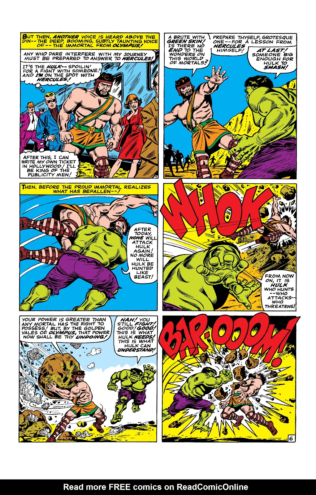 Read online Marvel Masterworks: The Incredible Hulk comic -  Issue # TPB 2 (Part 3) - 39