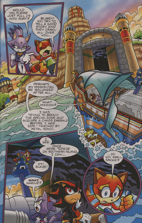 Read online Sonic Universe comic -  Issue #1 - 10