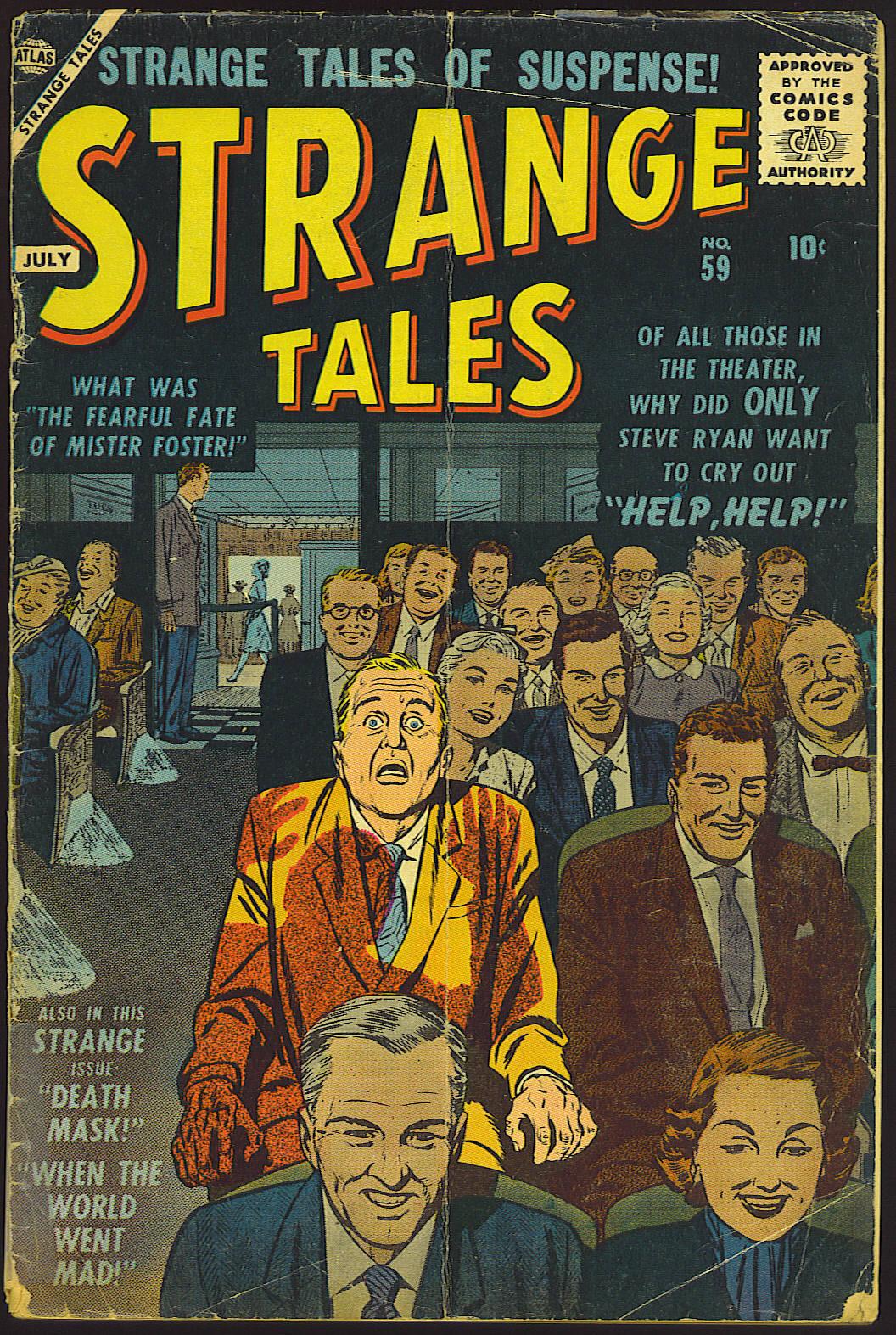 Strange Tales (1951) 59 Page 1