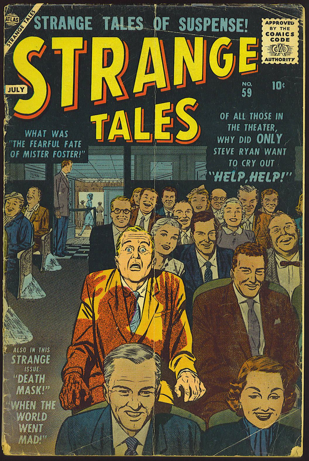 Strange Tales (1951) issue 59 - Page 1