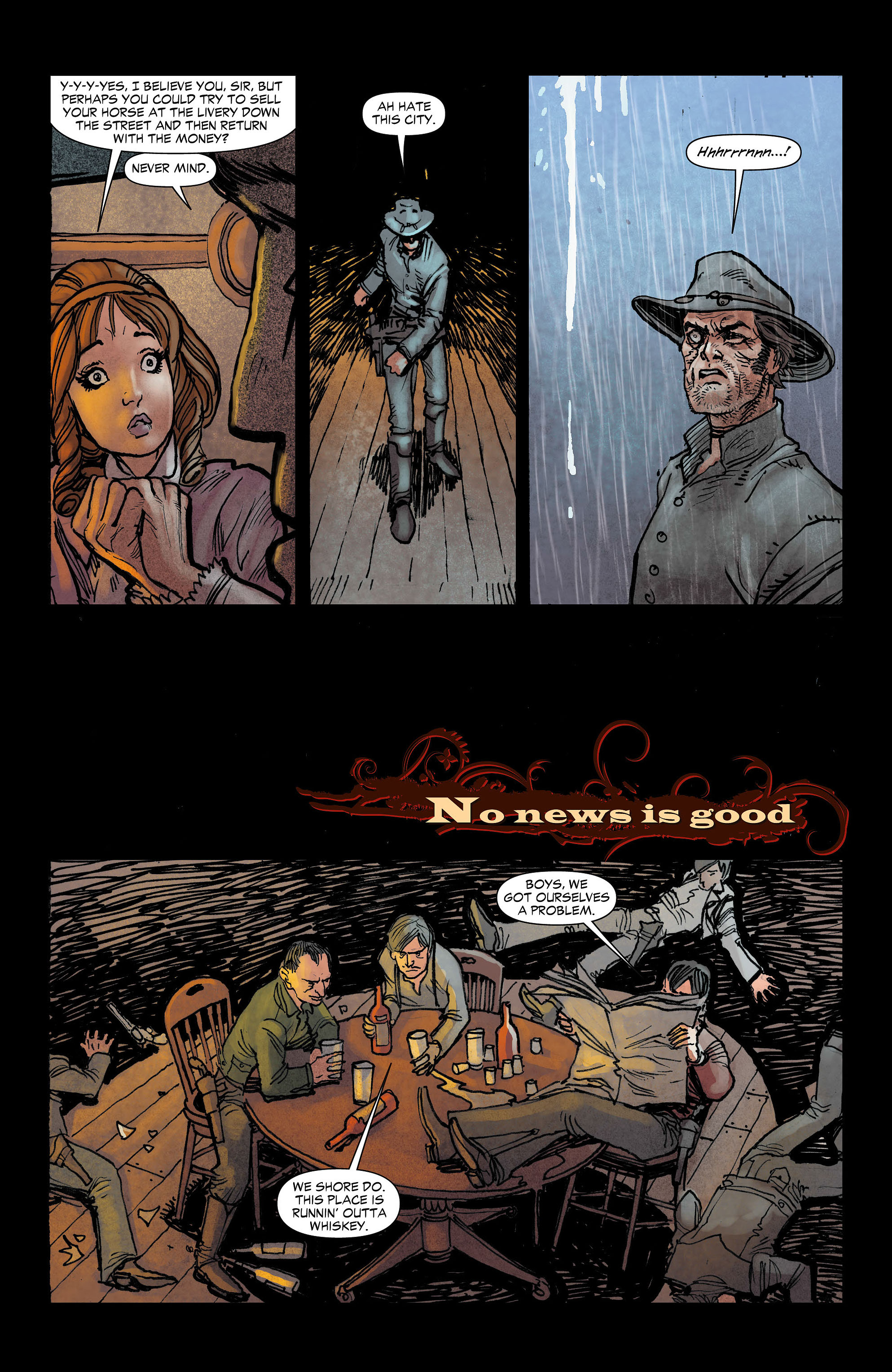 Read online All-Star Western (2011) comic -  Issue #3 - 16