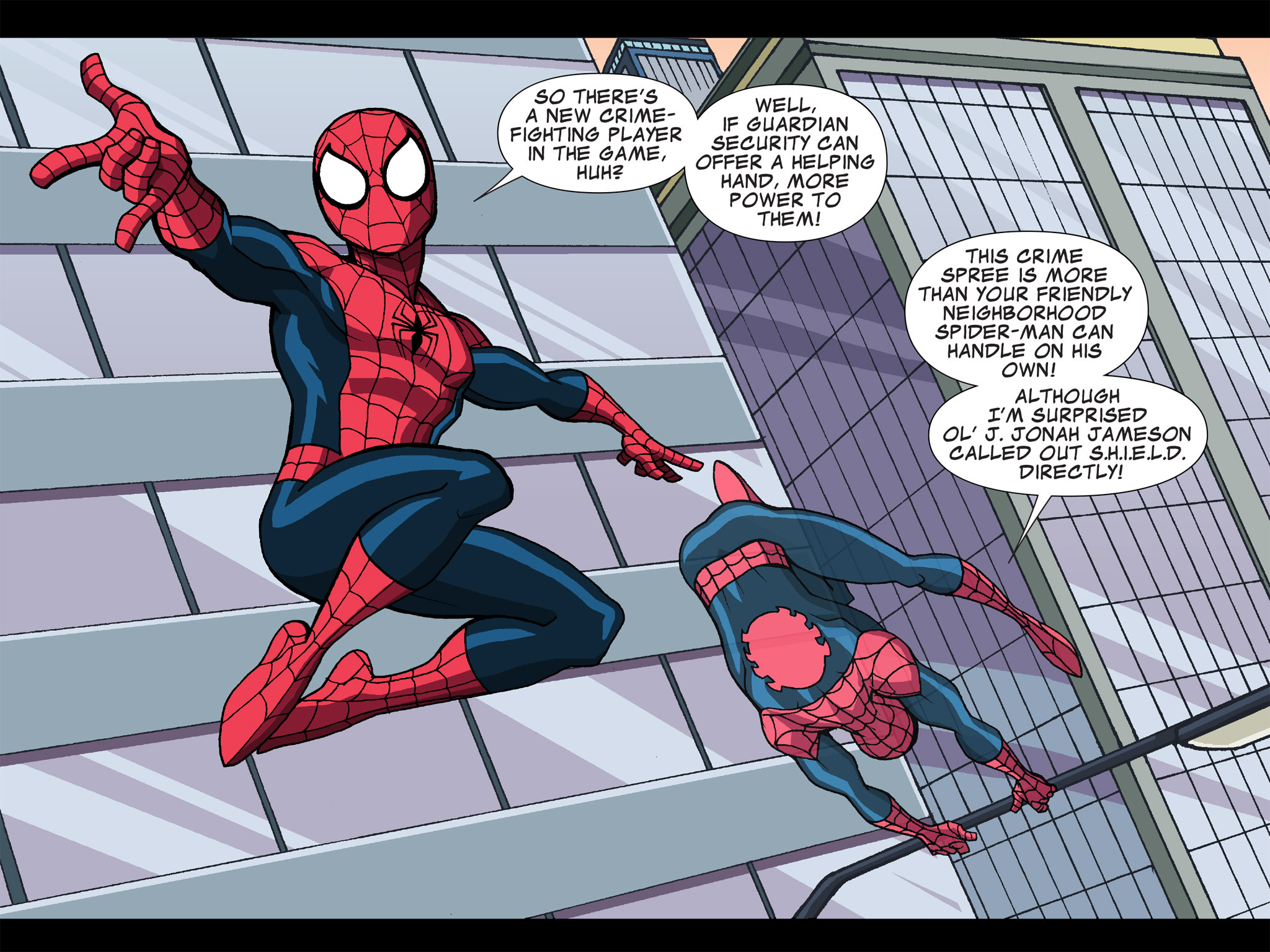 Read online Ultimate Spider-Man (Infinite Comics) (2015) comic -  Issue #15 - 14