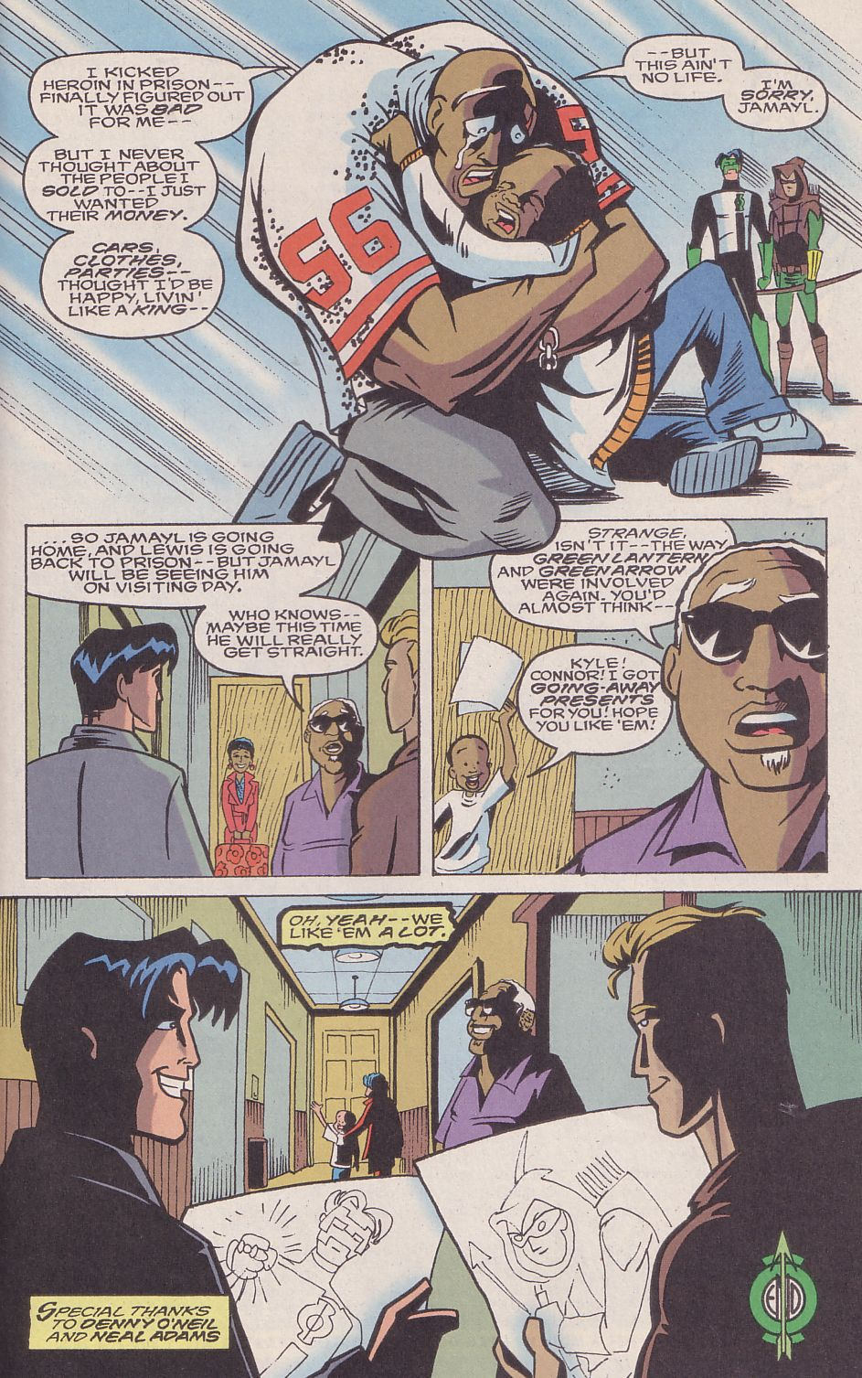 Read online Adventures in the DC Universe comic -  Issue #16 - 23