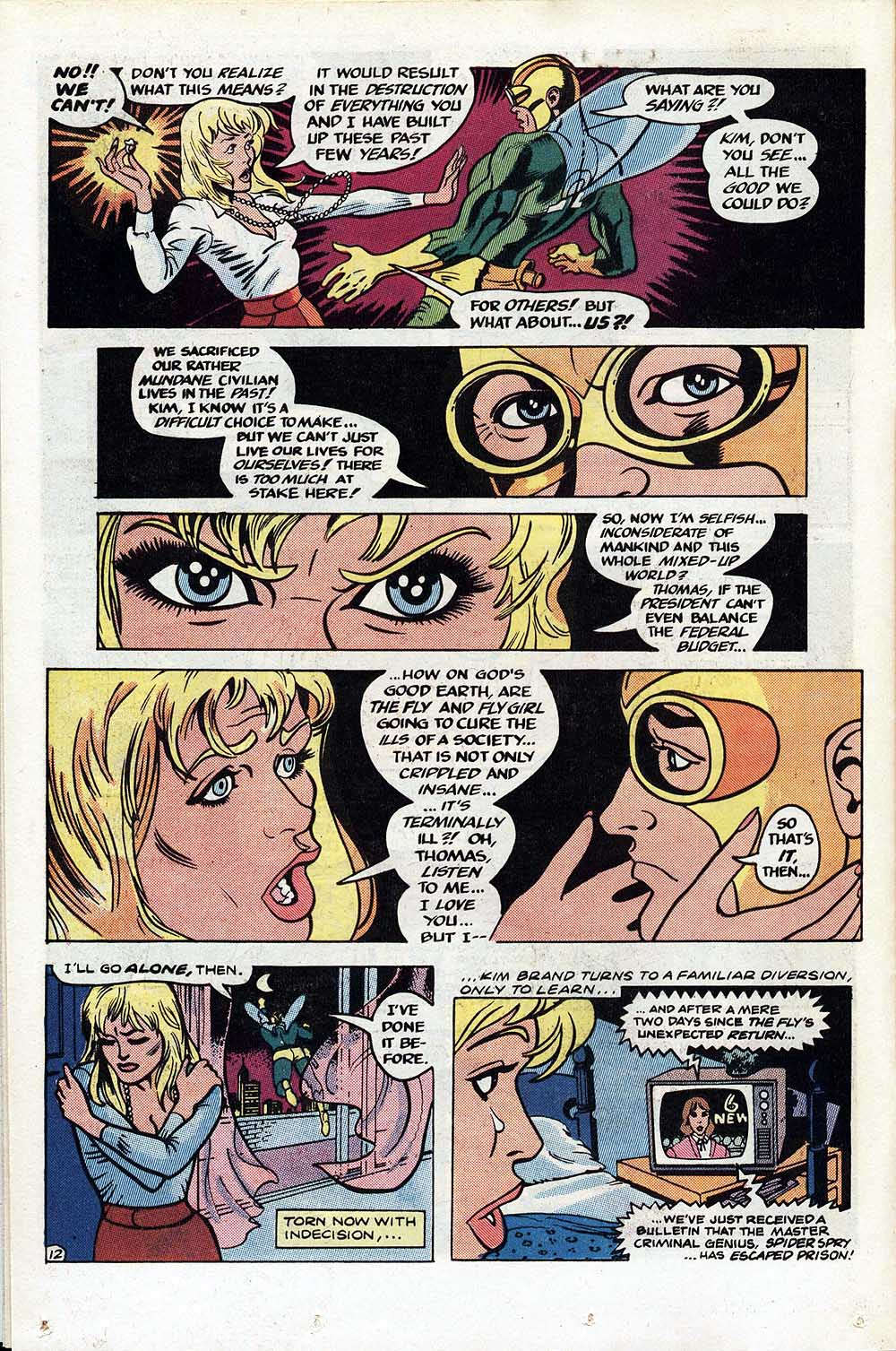 Read online The Fly (1983) comic -  Issue #1 - 13