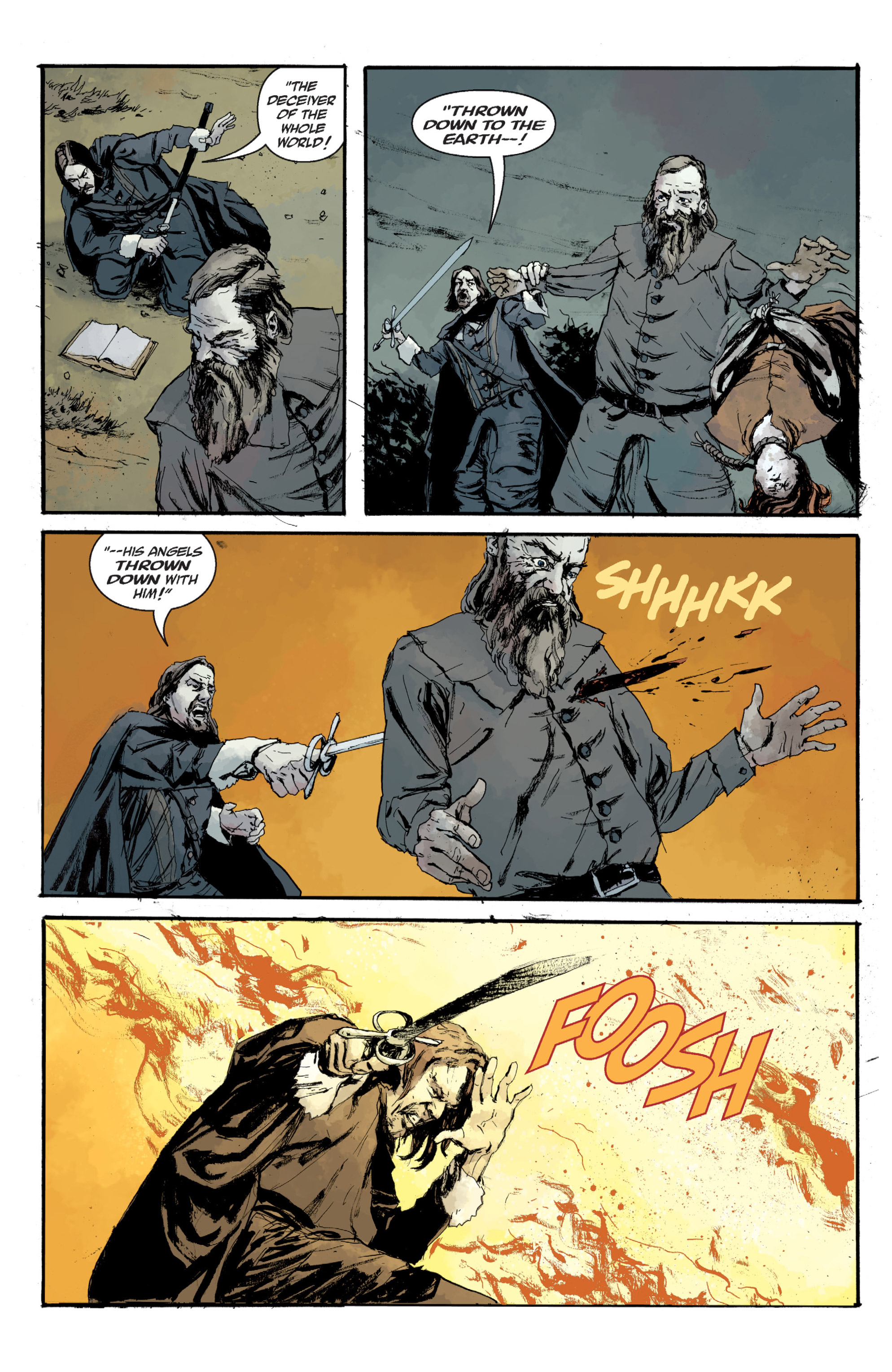 Read online Sir Edward Grey, Witchfinder: In the Service of Angels comic -  Issue # TPB - 140