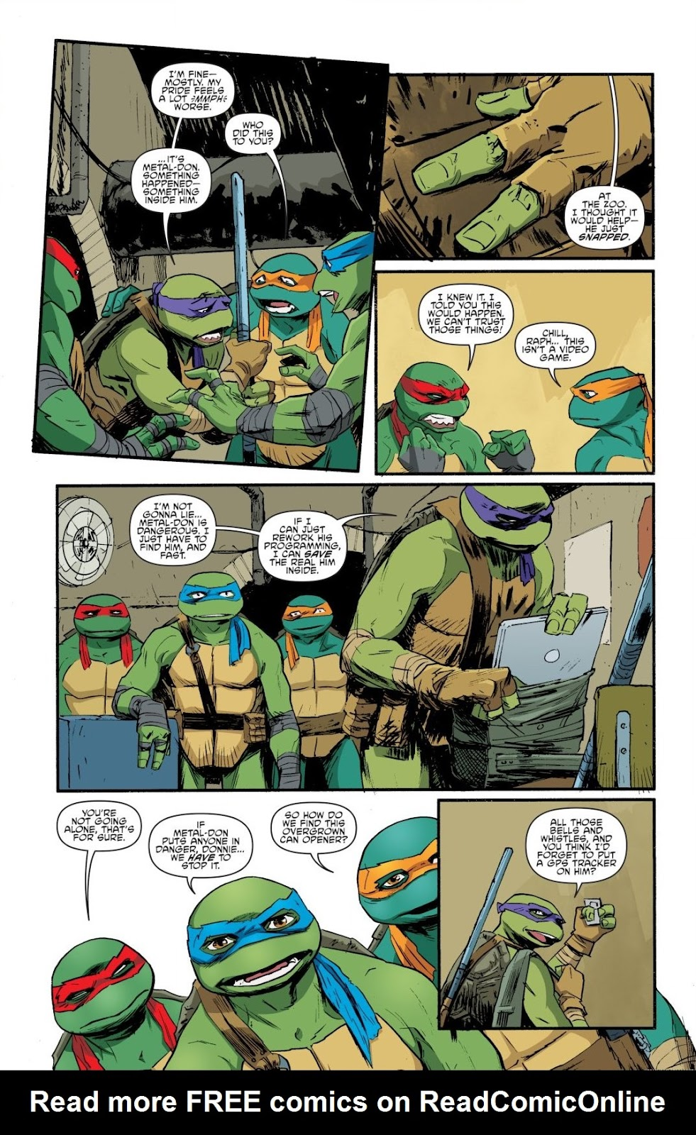 Read online Teenage Mutant Ninja Turtles: The IDW Collection comic -  Issue # TPB 8 (Part 4) - 65