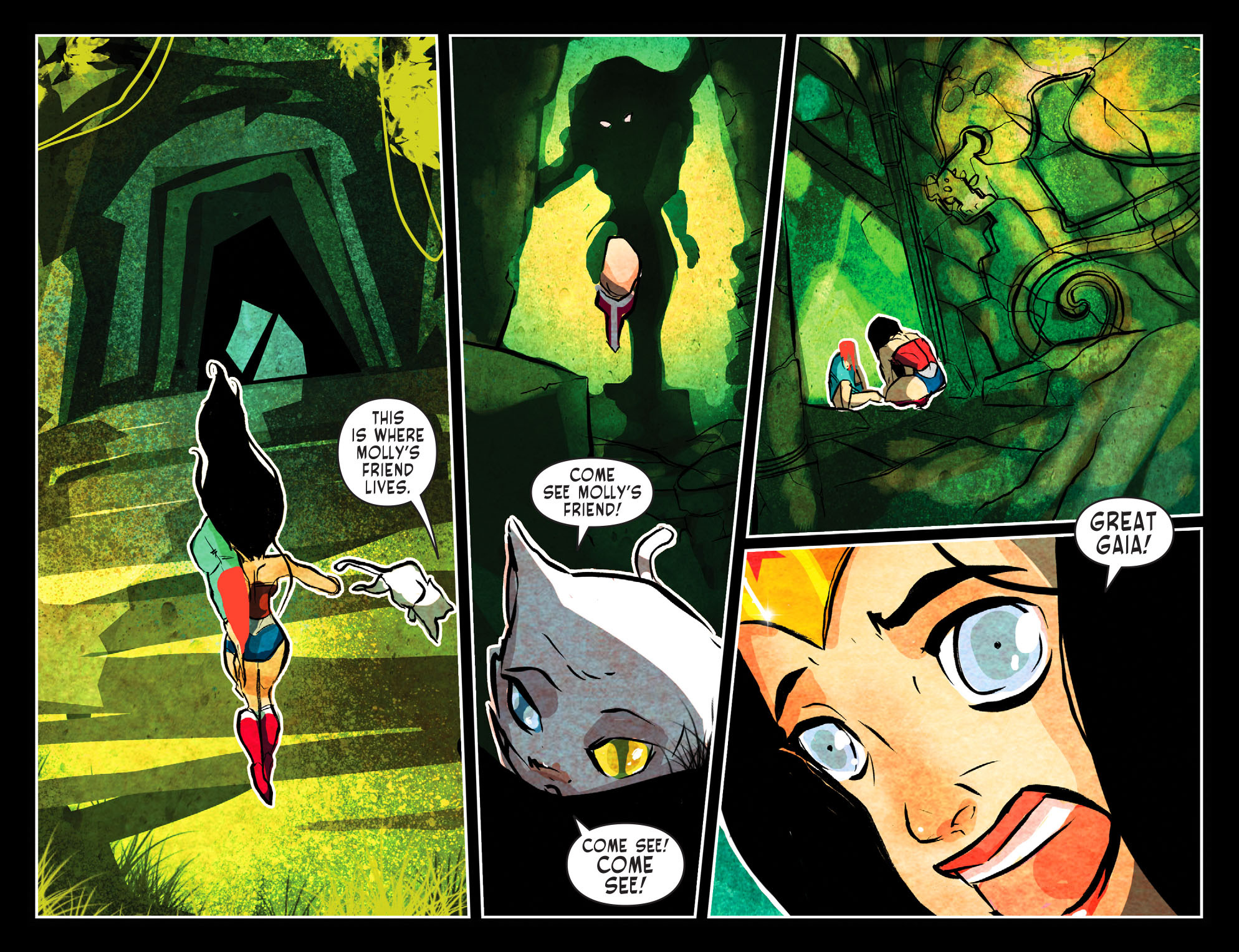 Read online Sensation Comics Featuring Wonder Woman comic -  Issue #51 - 11
