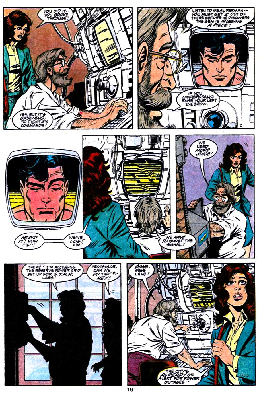 Read online Adventures of Superman (1987) comic -  Issue #484 - 20