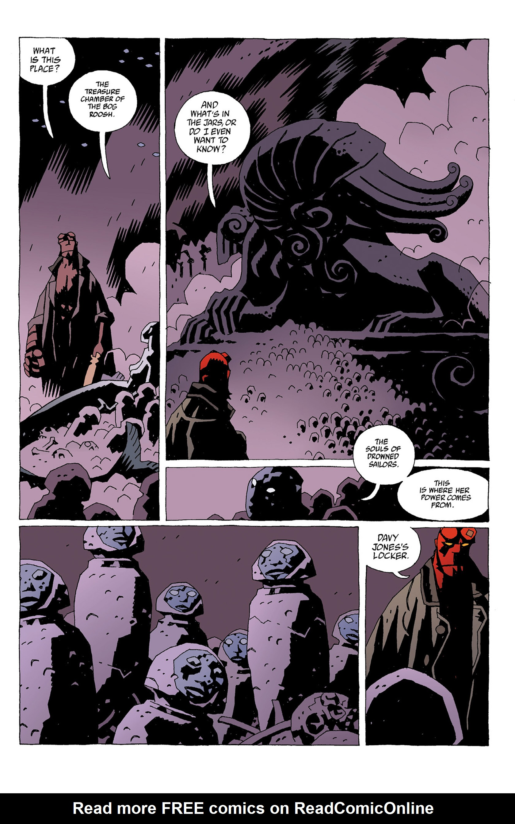 Read online Hellboy: Strange Places comic -  Issue # TPB - 59
