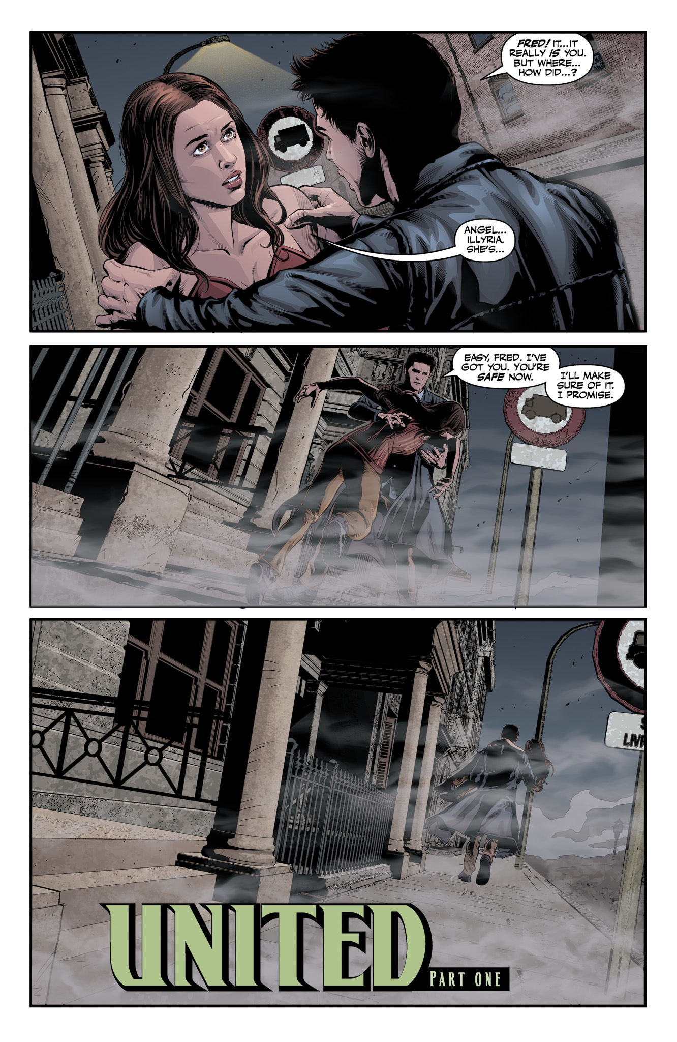 Read online Angel & Faith Season 10 comic -  Issue #11 - 3