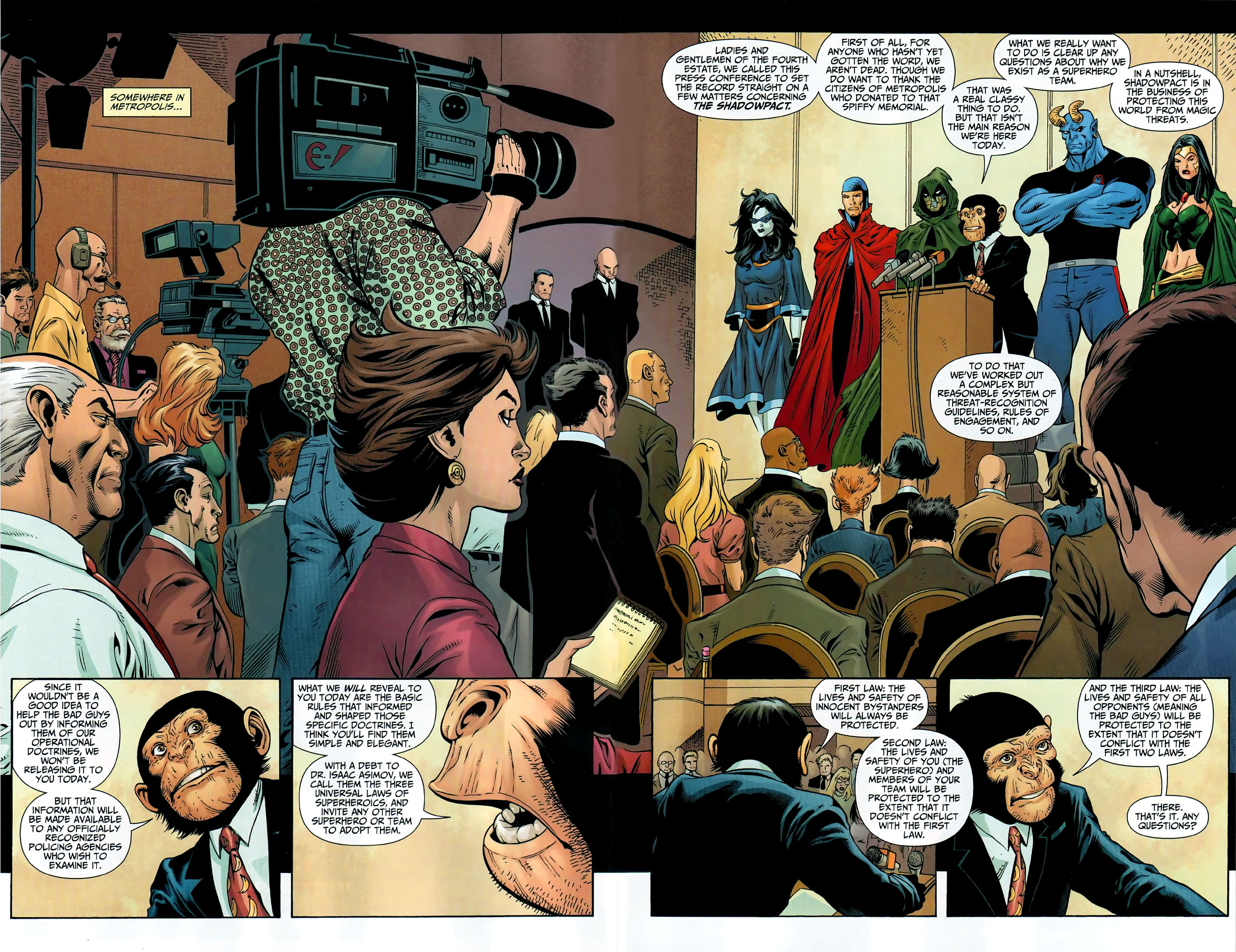 Read online Shadowpact comic -  Issue #9 - 3