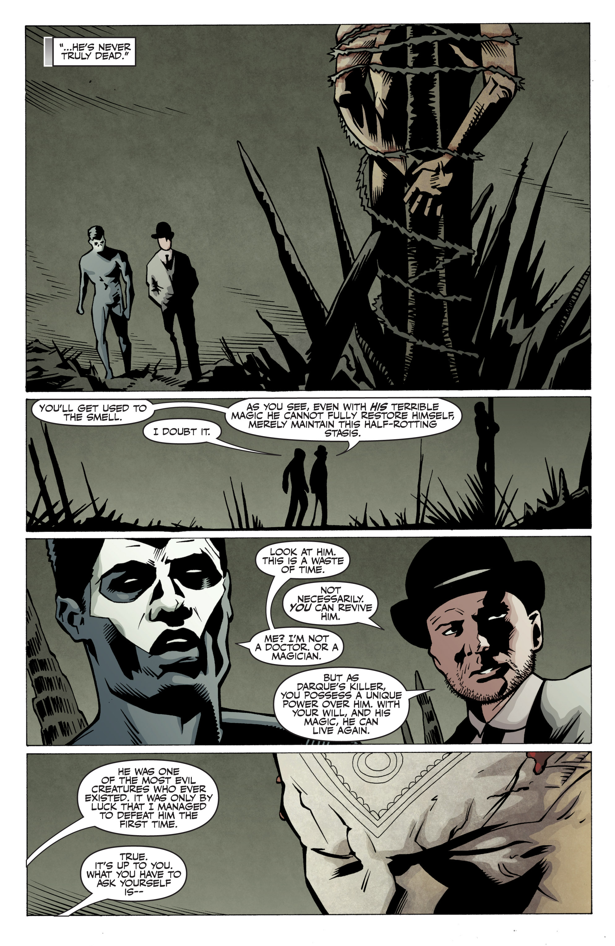 Read online Shadowman: End Times comic -  Issue #2 - 25