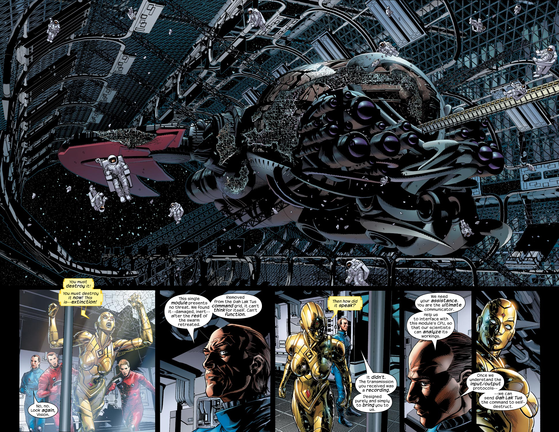 Read online Ultimate Vision comic -  Issue #1 - 15