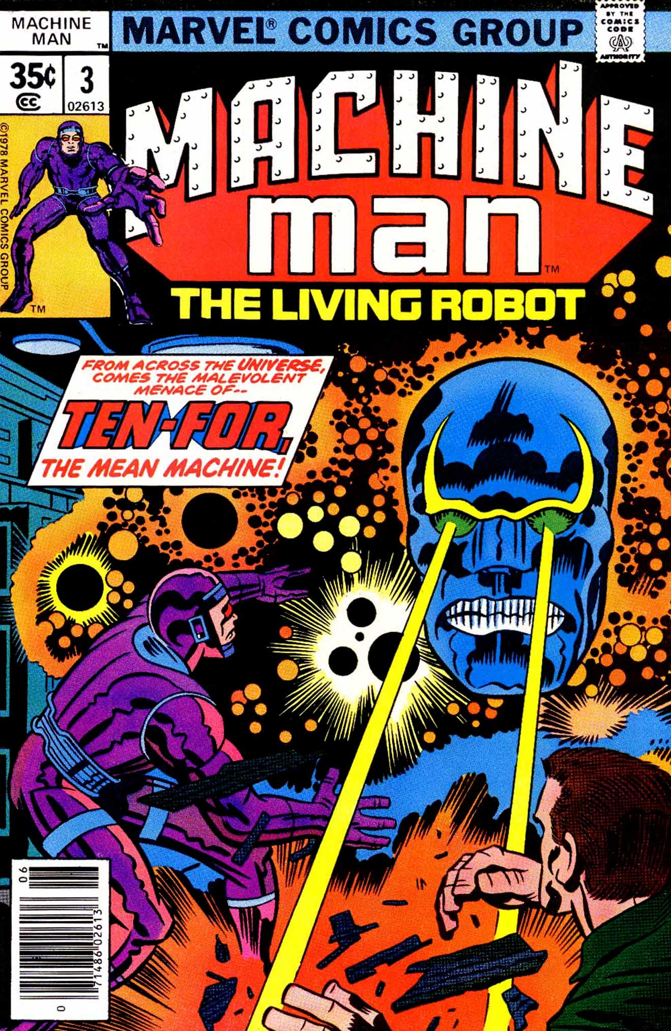 Machine Man (1978) issue 3 - Page 1
